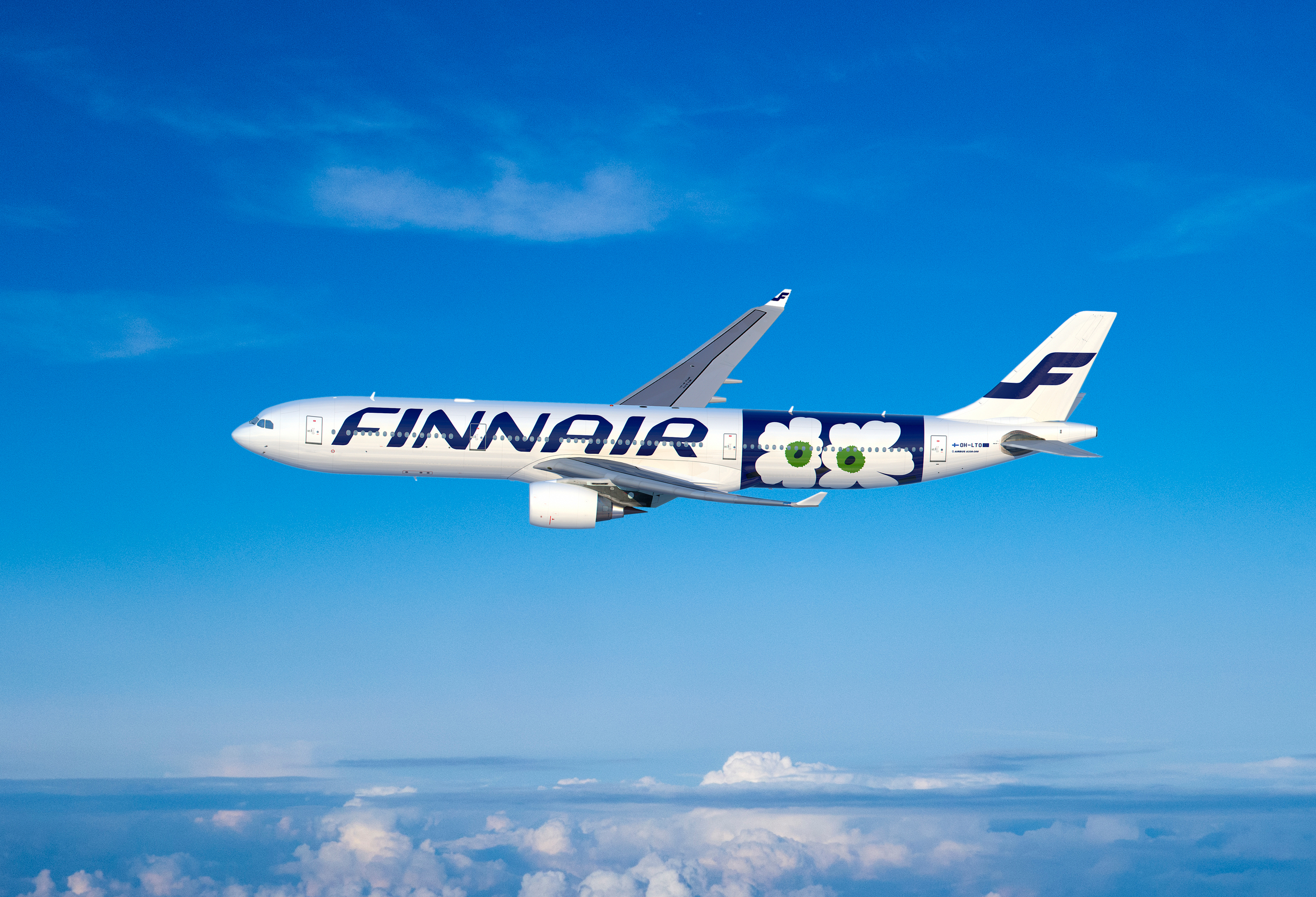 Finnair's A330s fly mainly routes to Asia and to New York from Helsinki Vaanta. Picture: Finnair
