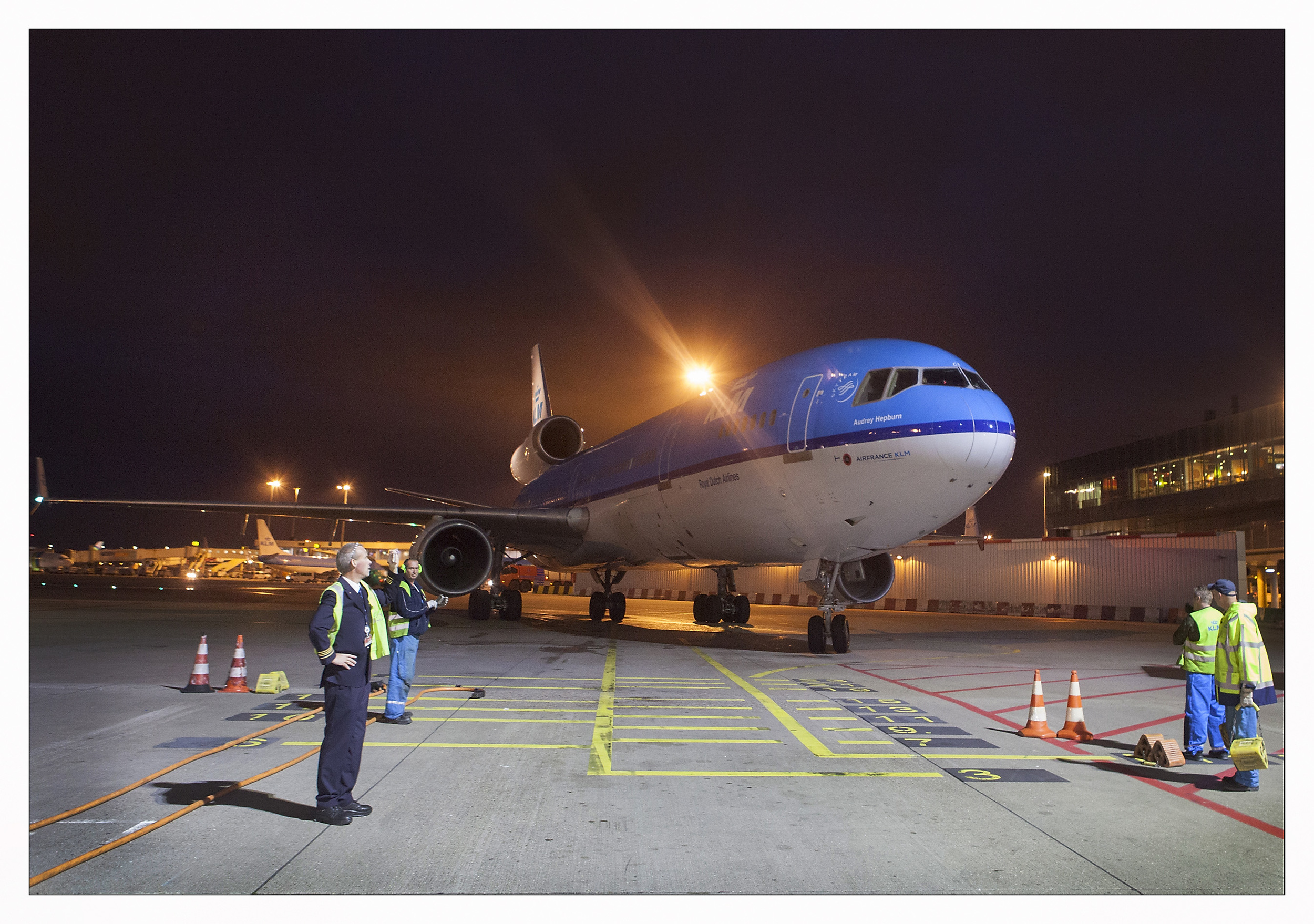 The end of an era. Picture: KLM