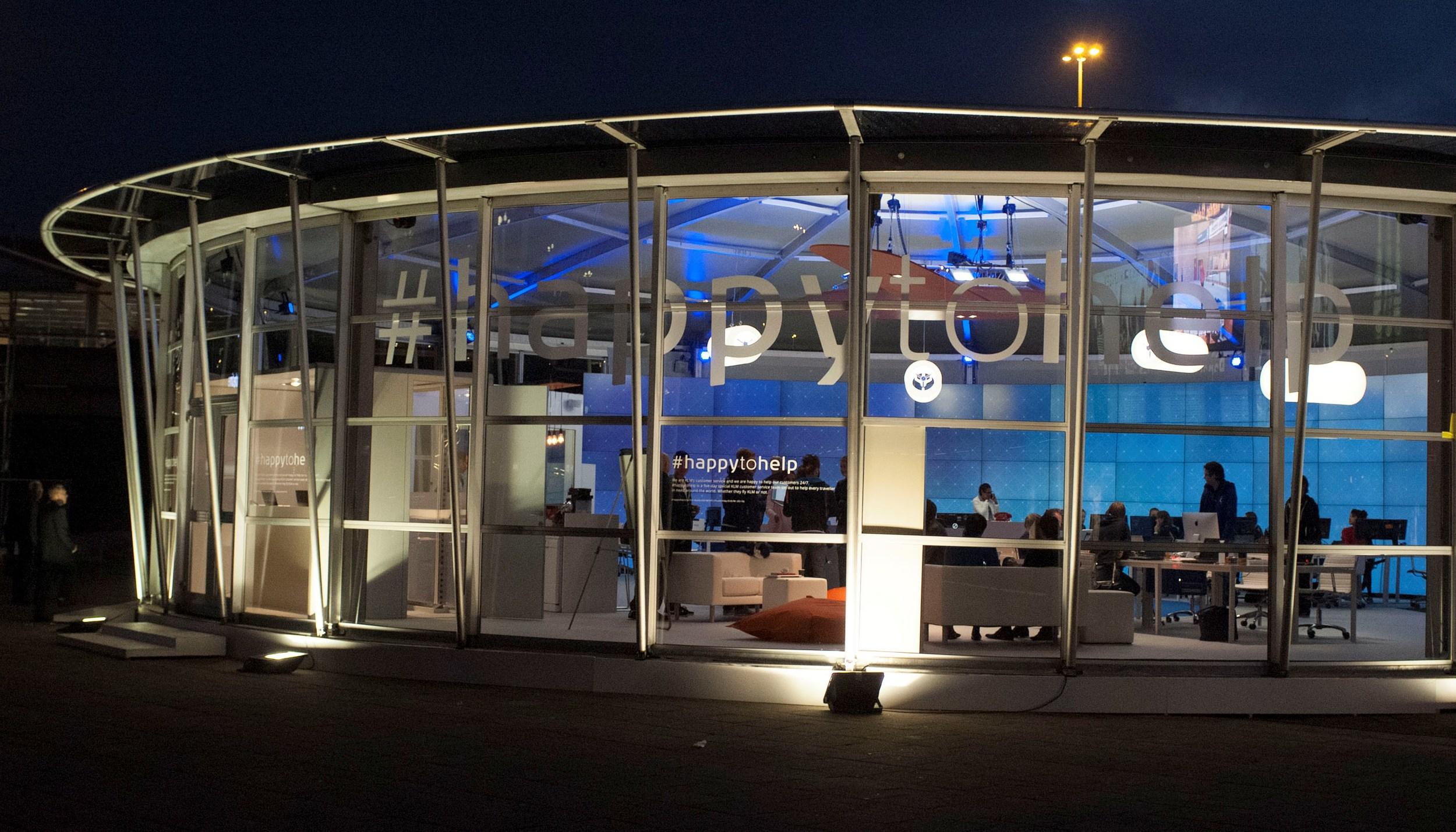 KLM Social Media House