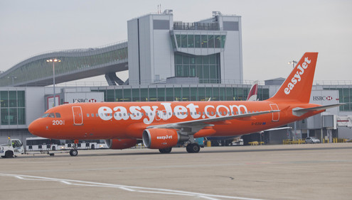 Easyjet All Orange livery