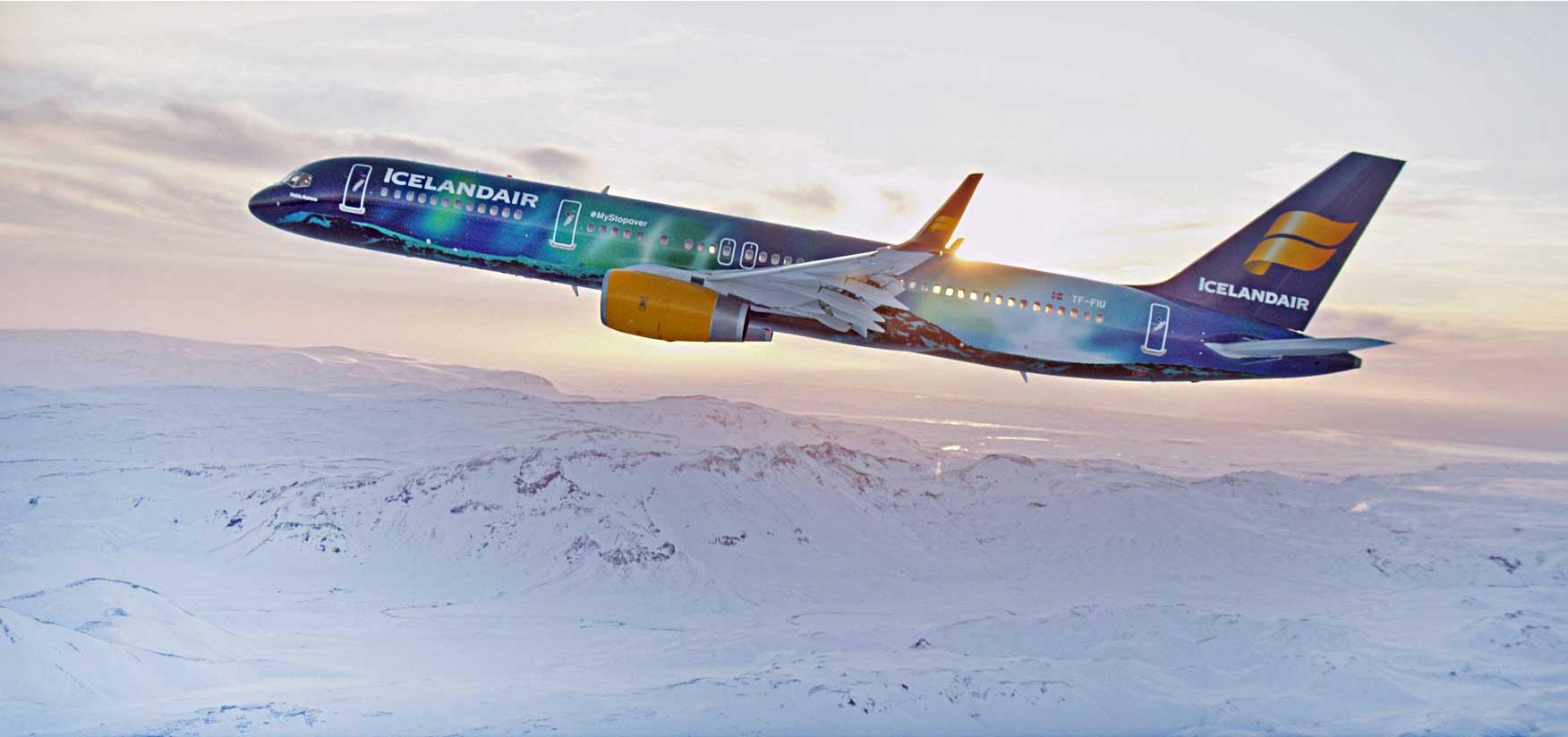 Picture:  Icelandair