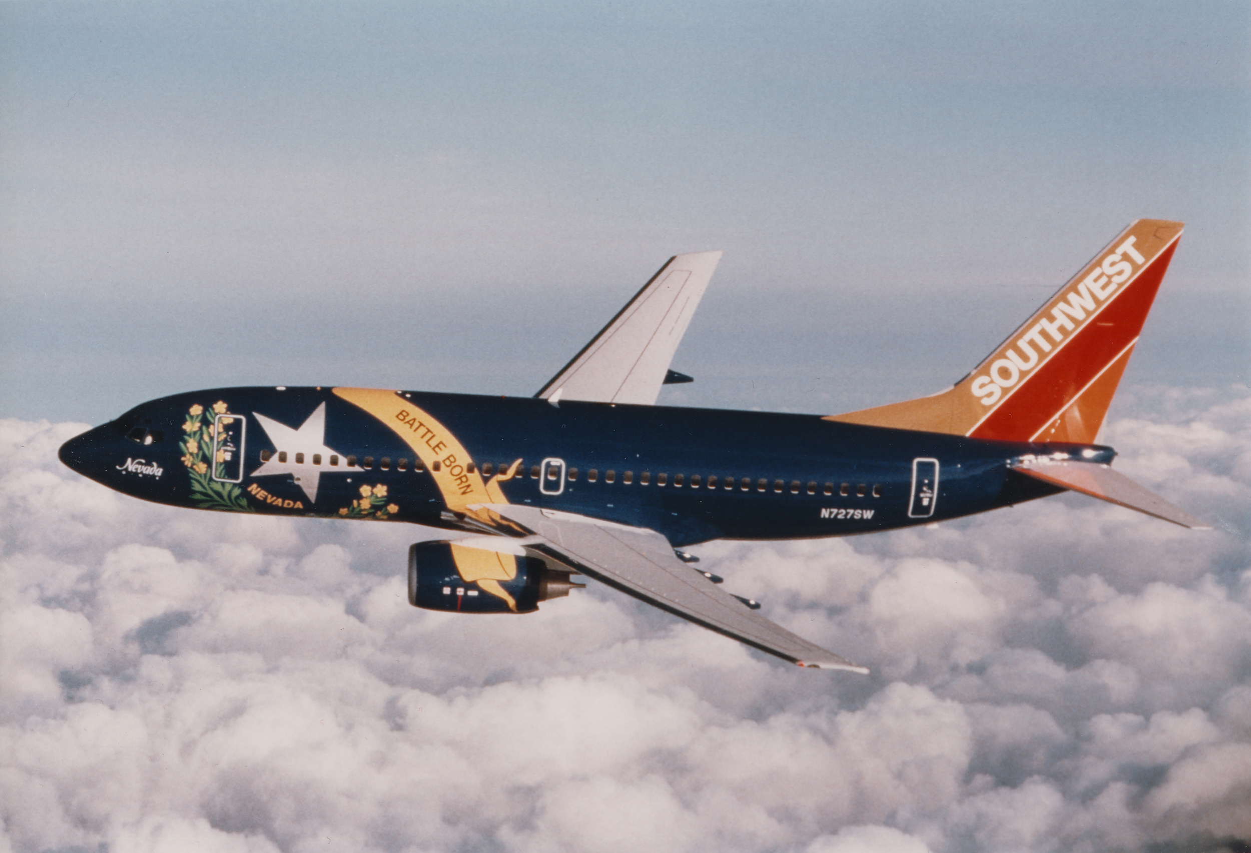 Nevada One ( N727SW), 1999. Picture: Southwest Airlines