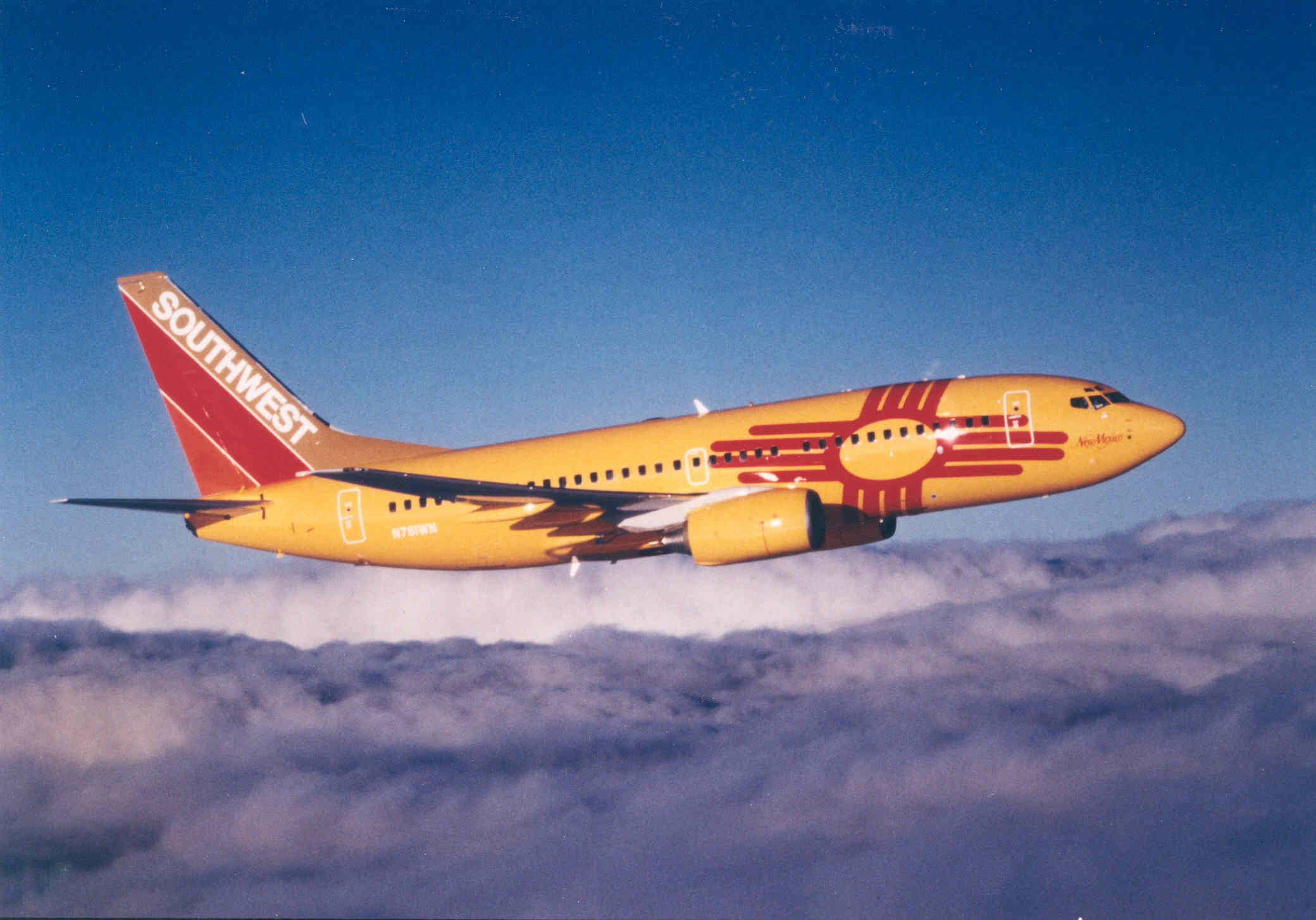 New Meixo One ( N781WN), 2000. Pciture: Southwest Airlines