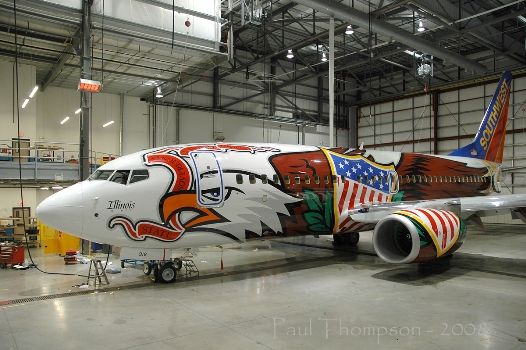 Illinois One ( N918WN), 2008. Picture: Southwest Airlines