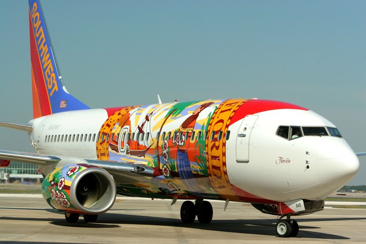 Florida One ( N945WN), 2010. Picture: Southwest Airlines