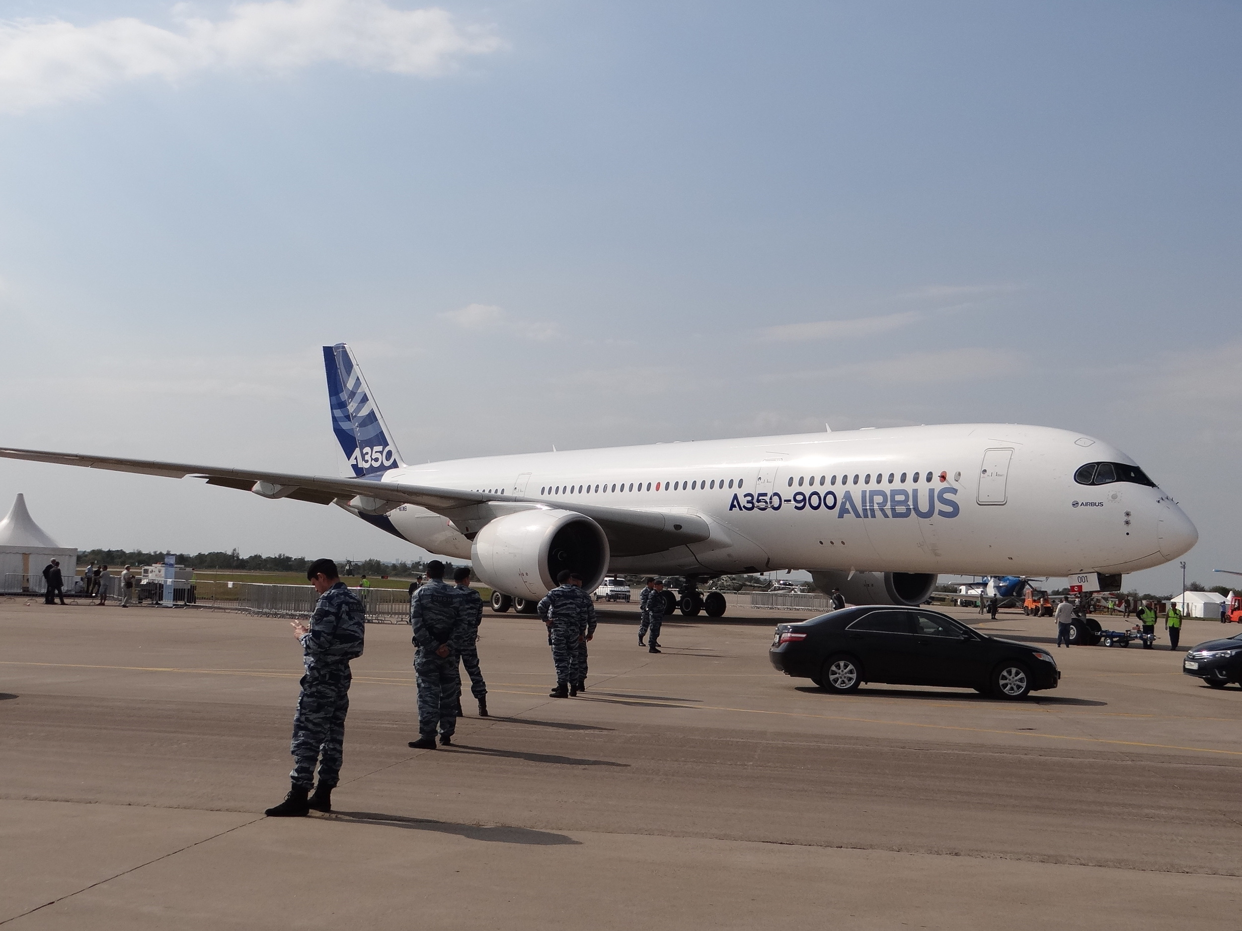 A350-900 moscow