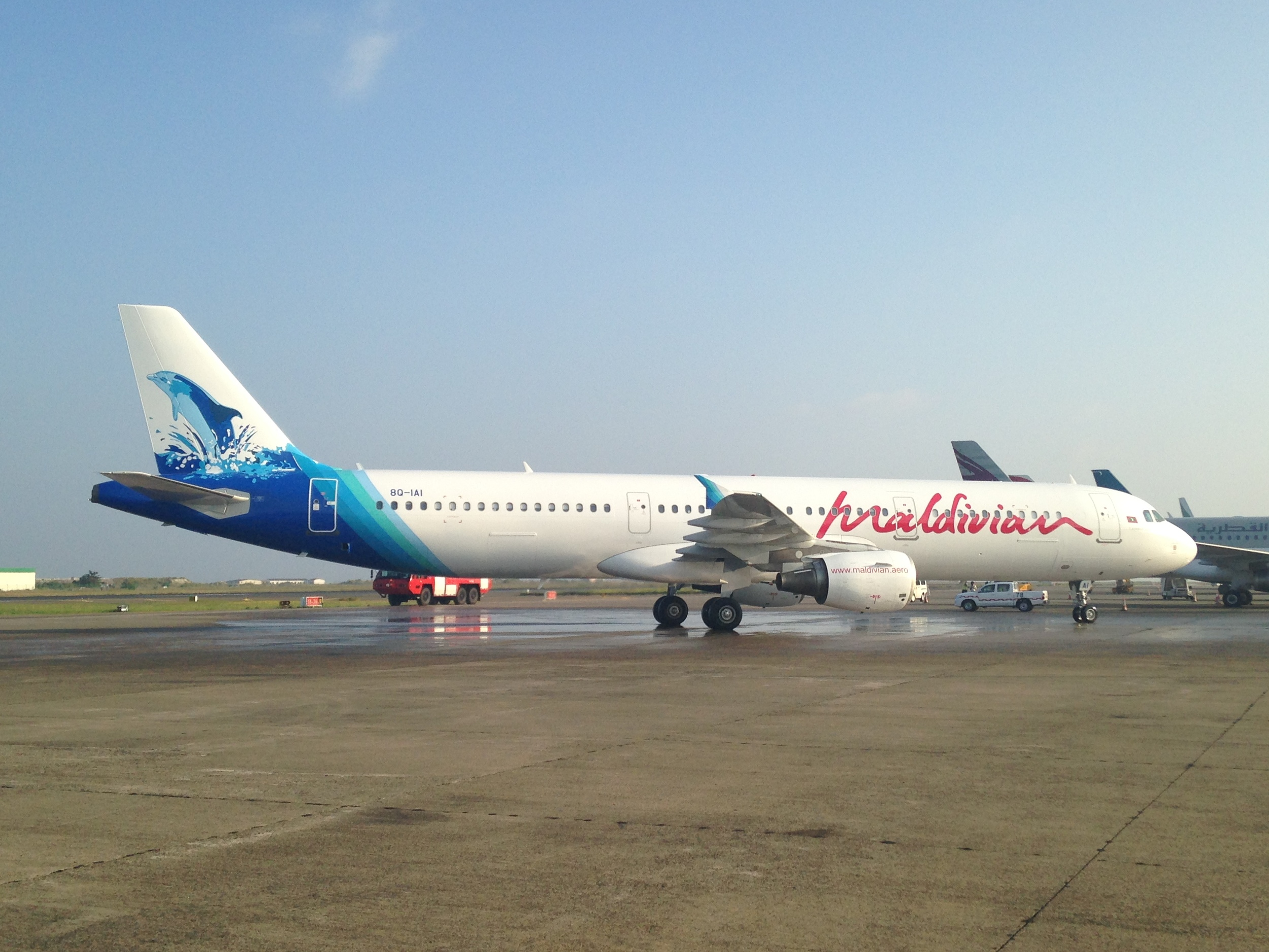 Maldivian received its first Airbus A321 earlier this year