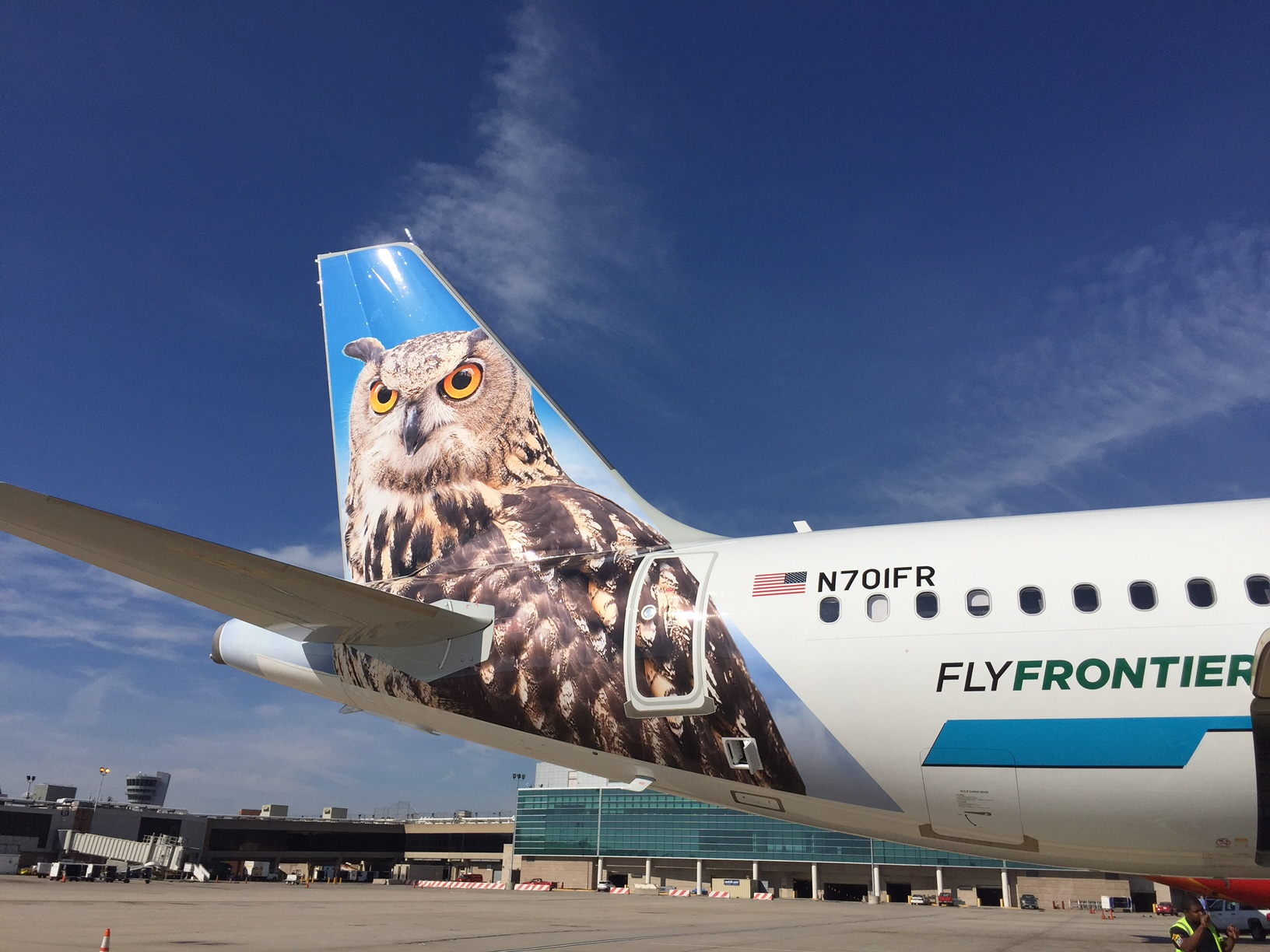 Frontier Mascot Tail