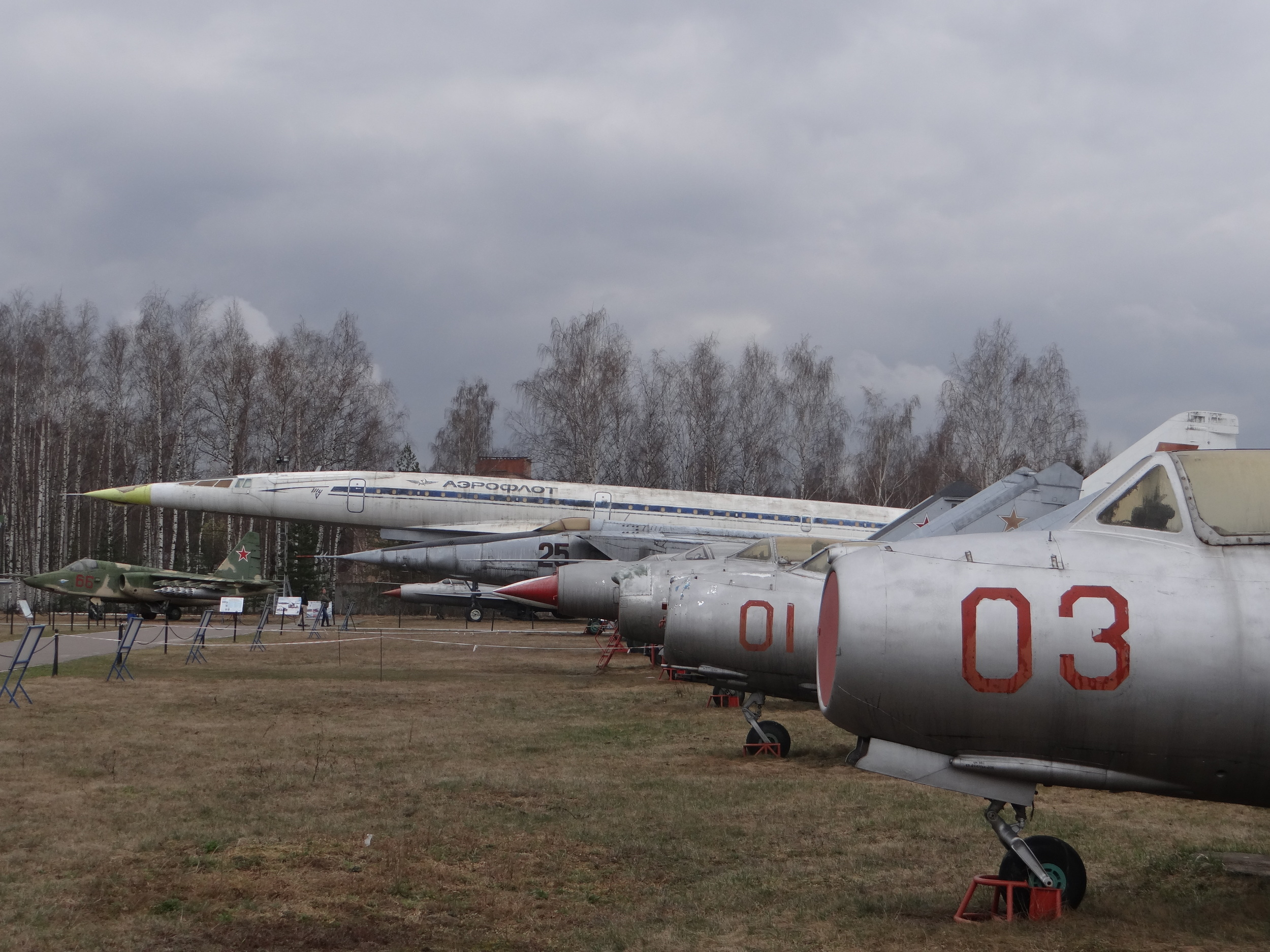 A contest of noses: easy victory for the Tupolev Tu-144