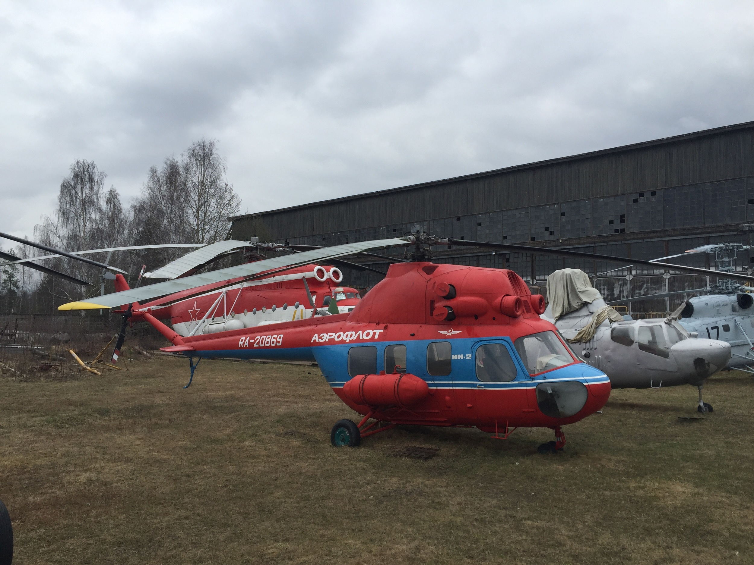 A tiny, cute, helicopter, the Mil Mi-2