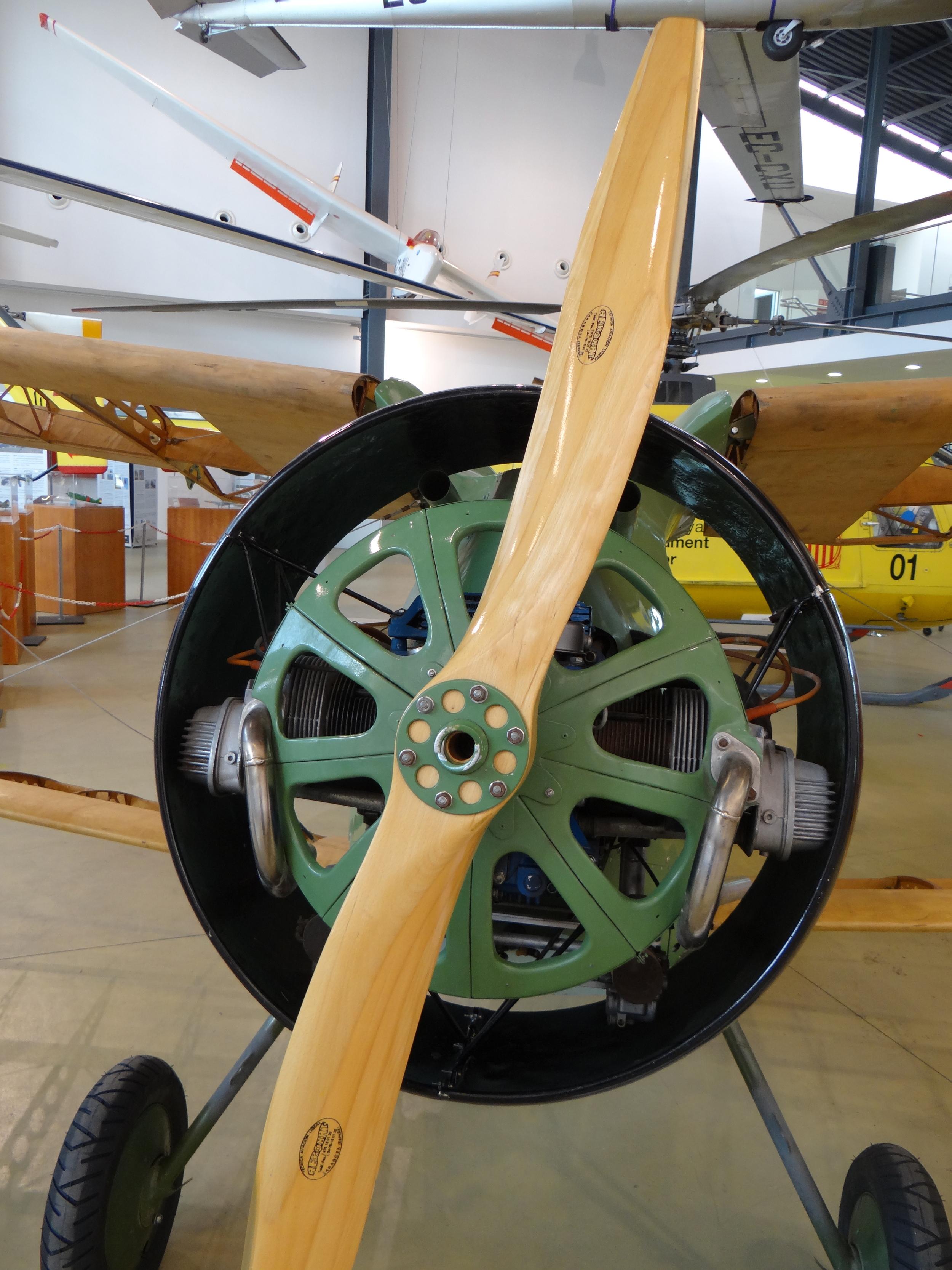 Polikarpov I-15 propeller