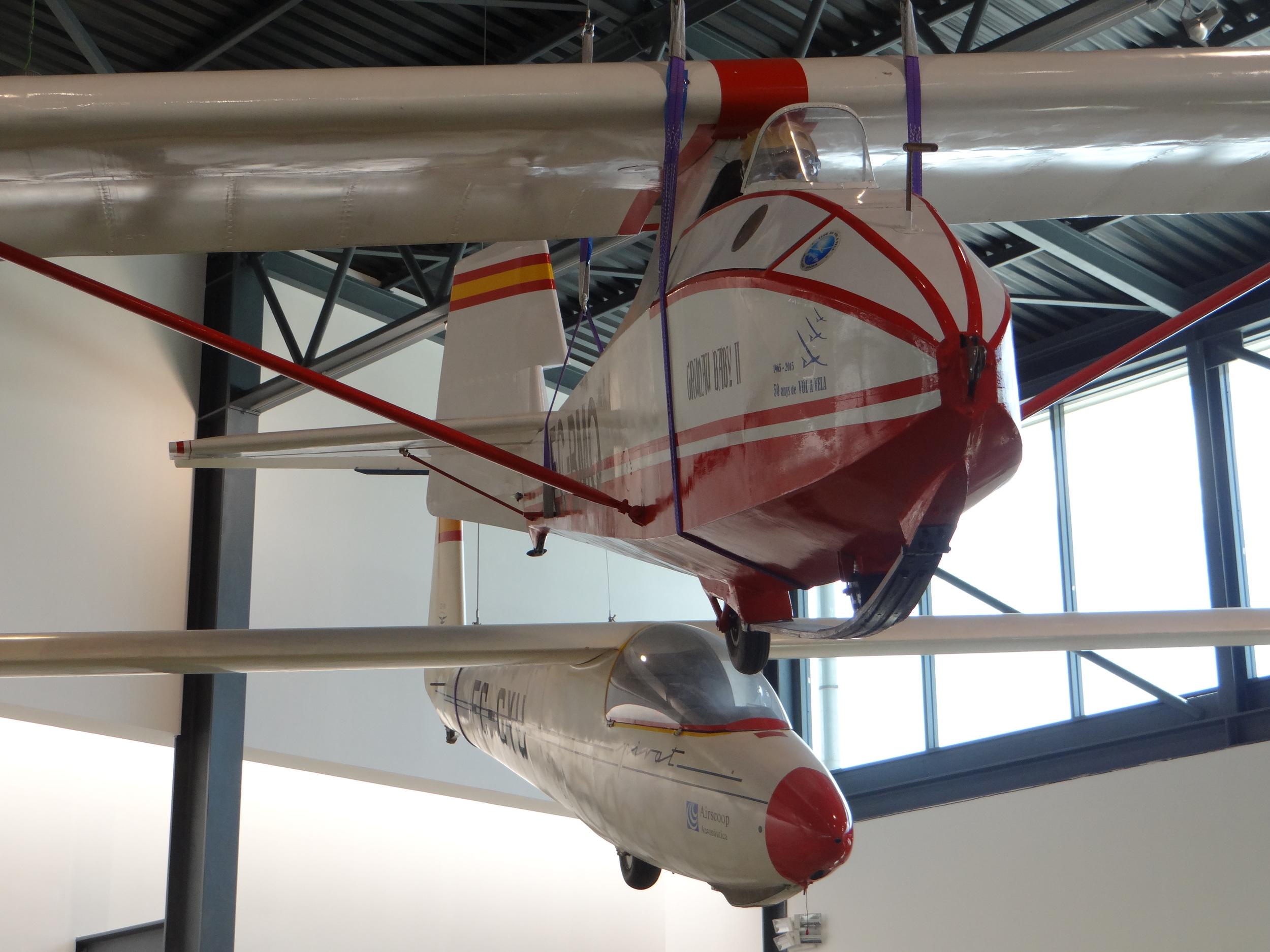 A sailplane close-up