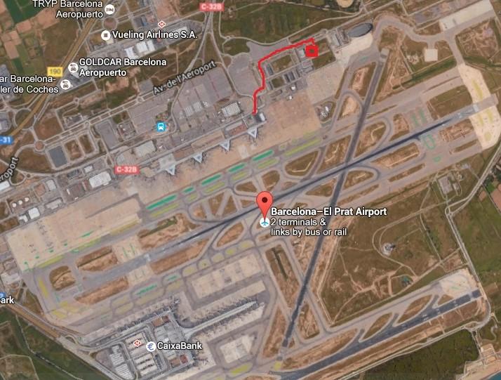 Directions Barcelona aviation museum