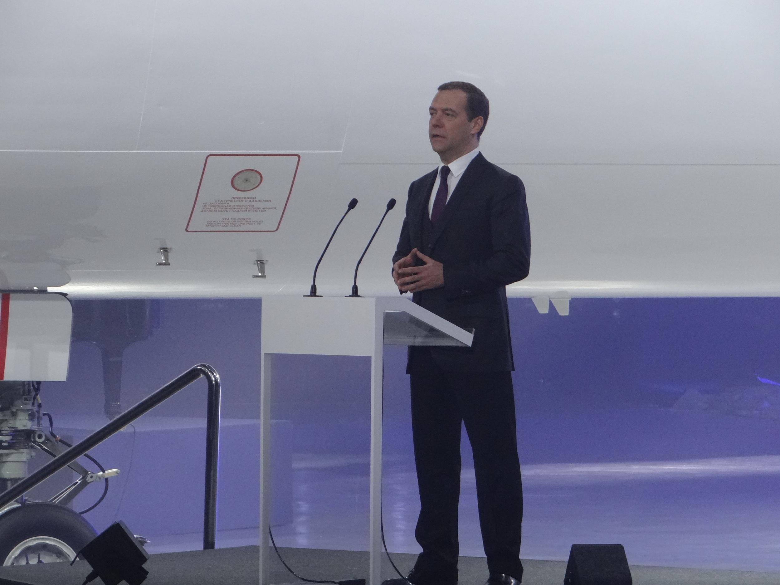 Dmitry Medvedev mc-21