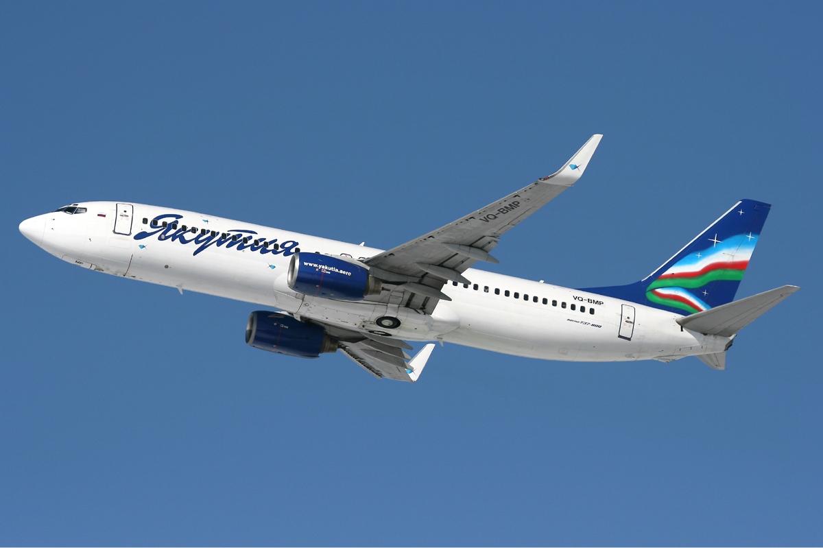 Yakutia Airlines Boeing 737