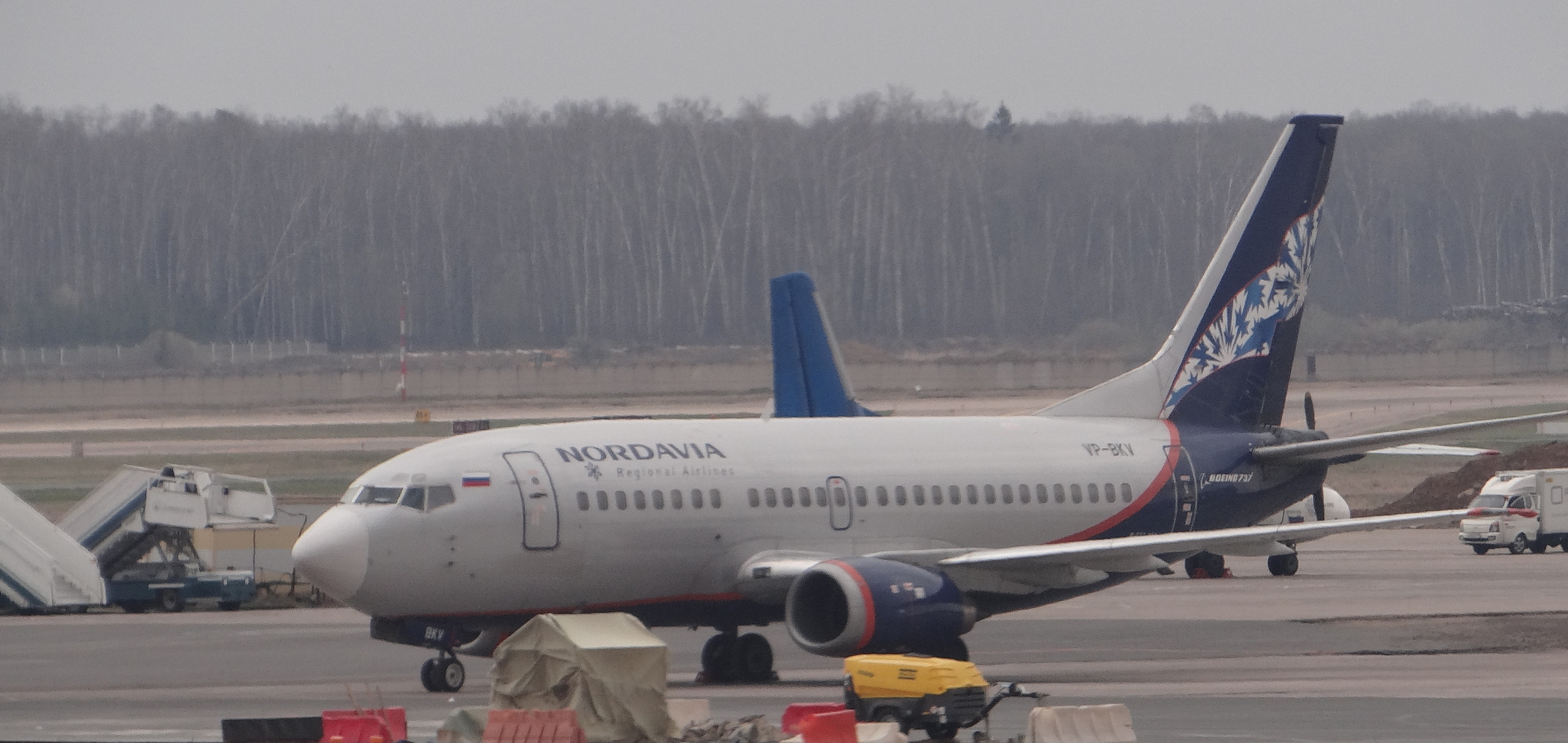 Nordavia currently operates Boeing 737s, but may be switching to MC-21 over the coming years