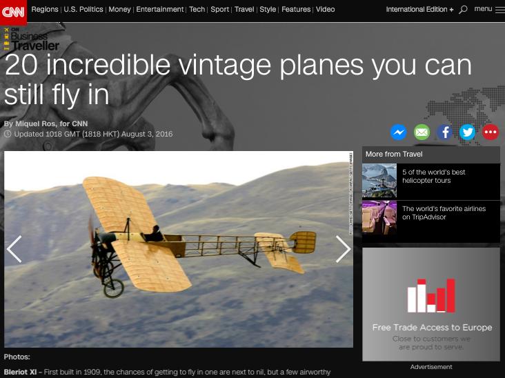 CNN vintage aircraft