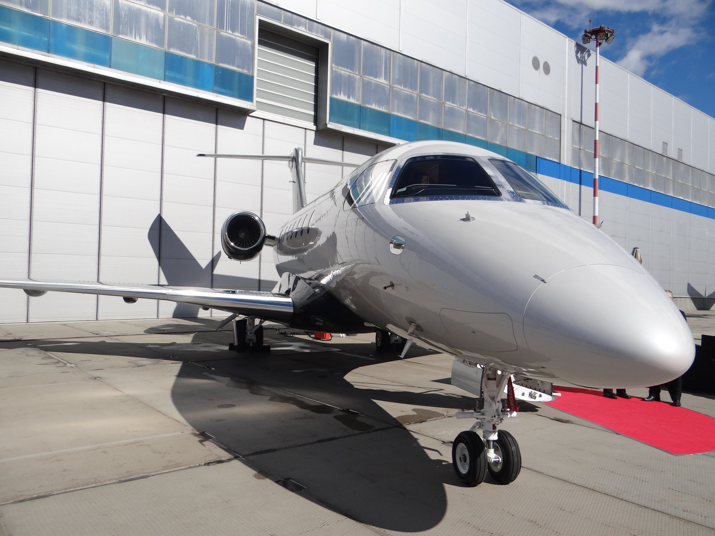 Other usual suspects at the show: Embraer brought its Phenom 300 and Phenom 100.