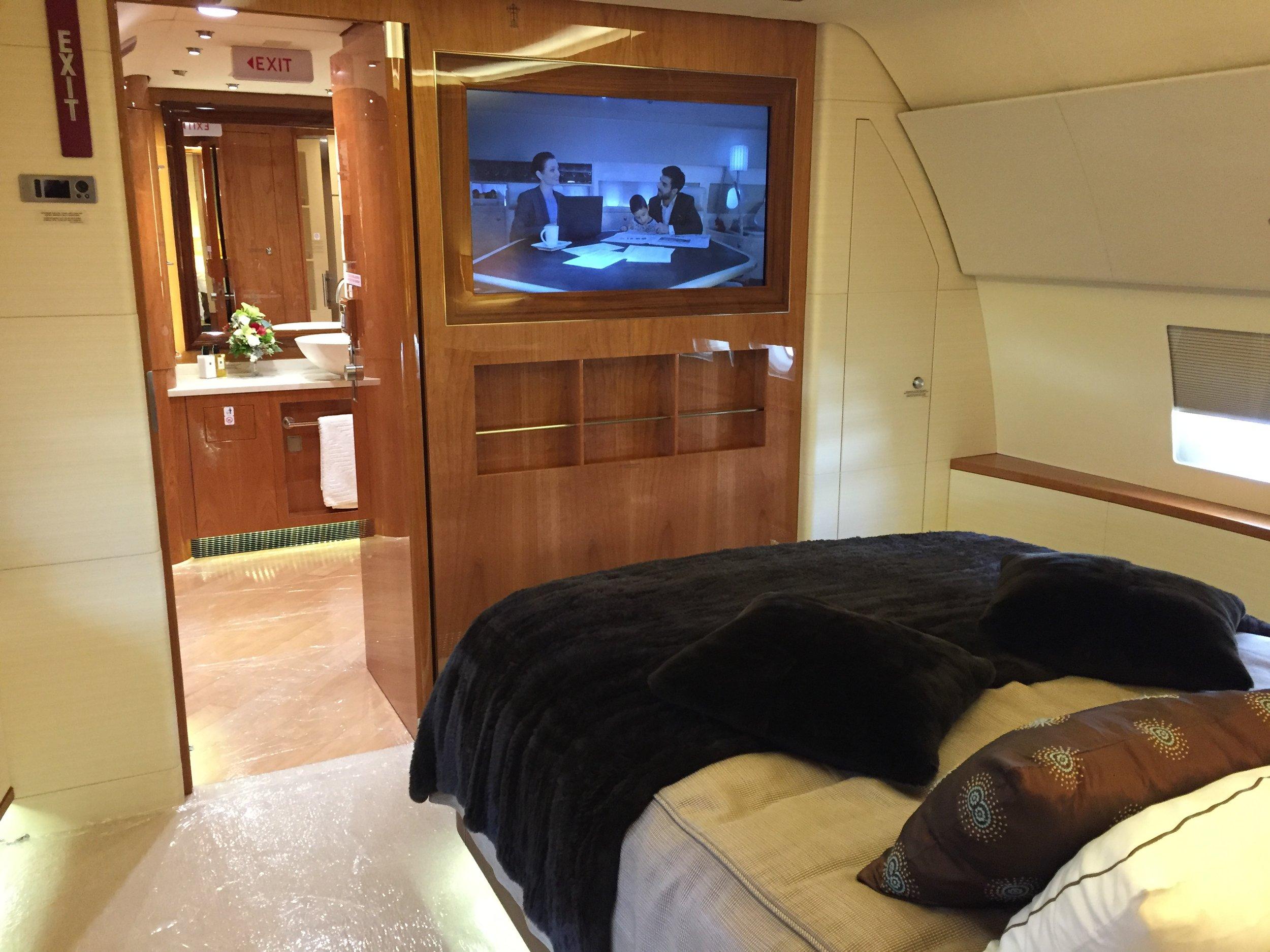 Airbus ACJ bedroom
