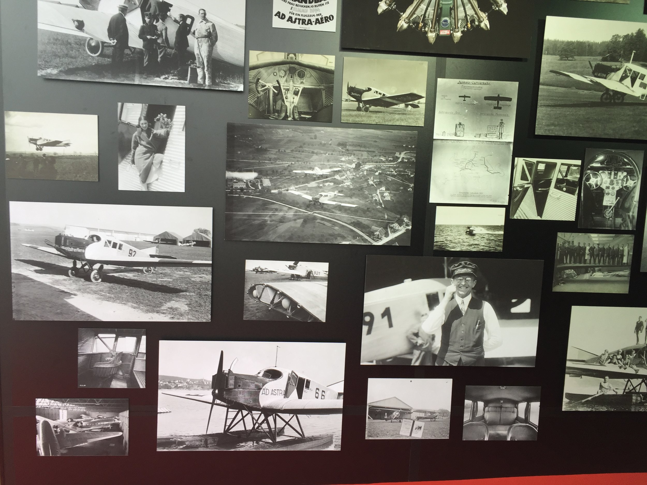 Some historical pictures of the origina Junkers F13 - in fact, among the guests invited to the event were a direct descendant of Otto Junkers and a 90-year old man that had once flown in the Junkers F13 as a child!