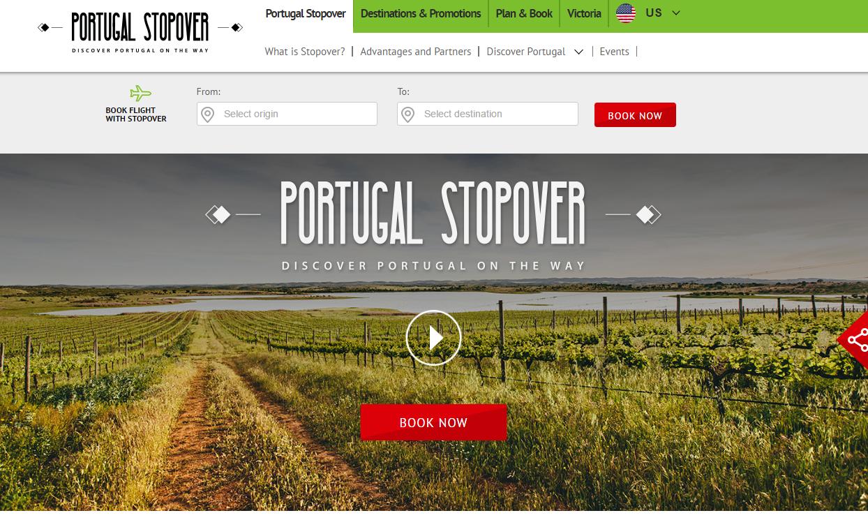 Portugal Stopover TAP