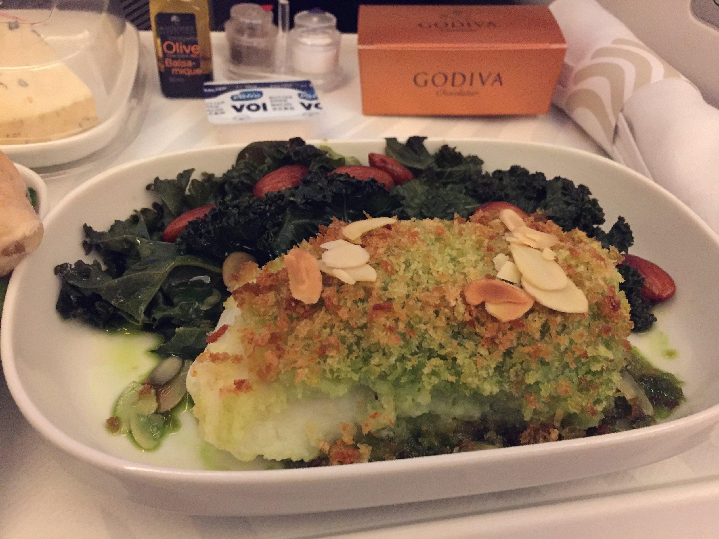 finnair biz class food.JPG