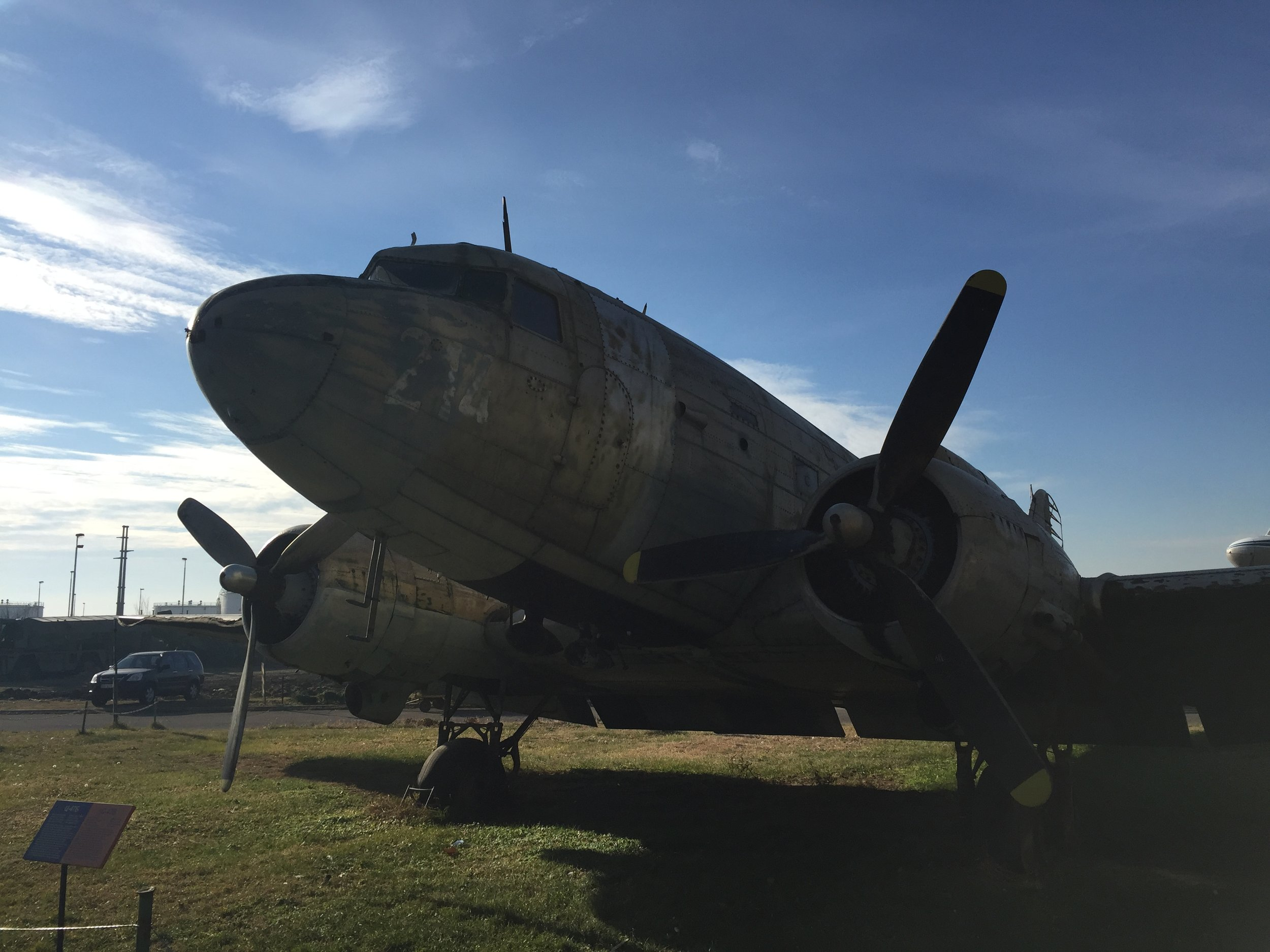 The good old C-47 - no stranger to  this blog !