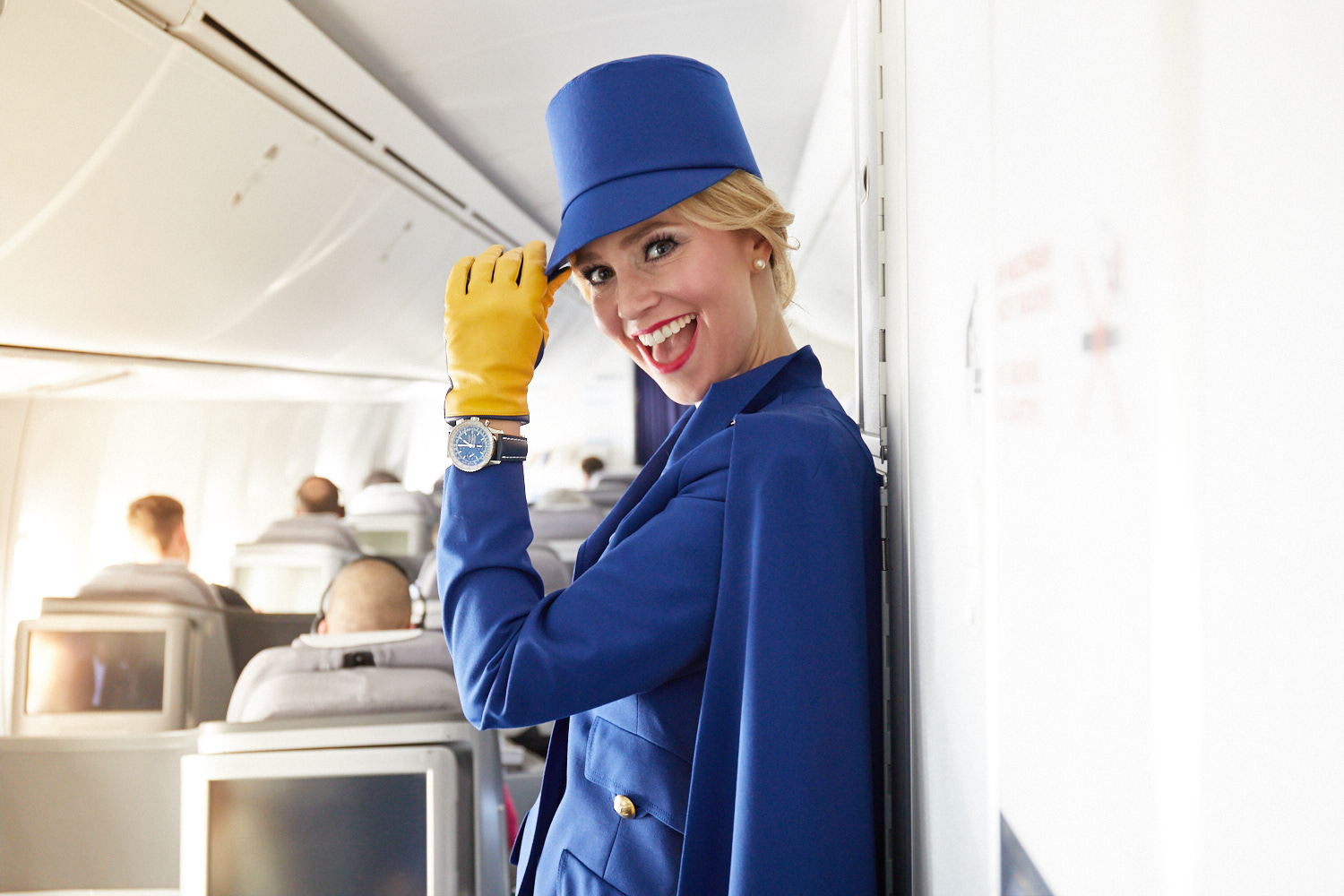 Vintag estyle is in fashion! Picture: Lufthansa