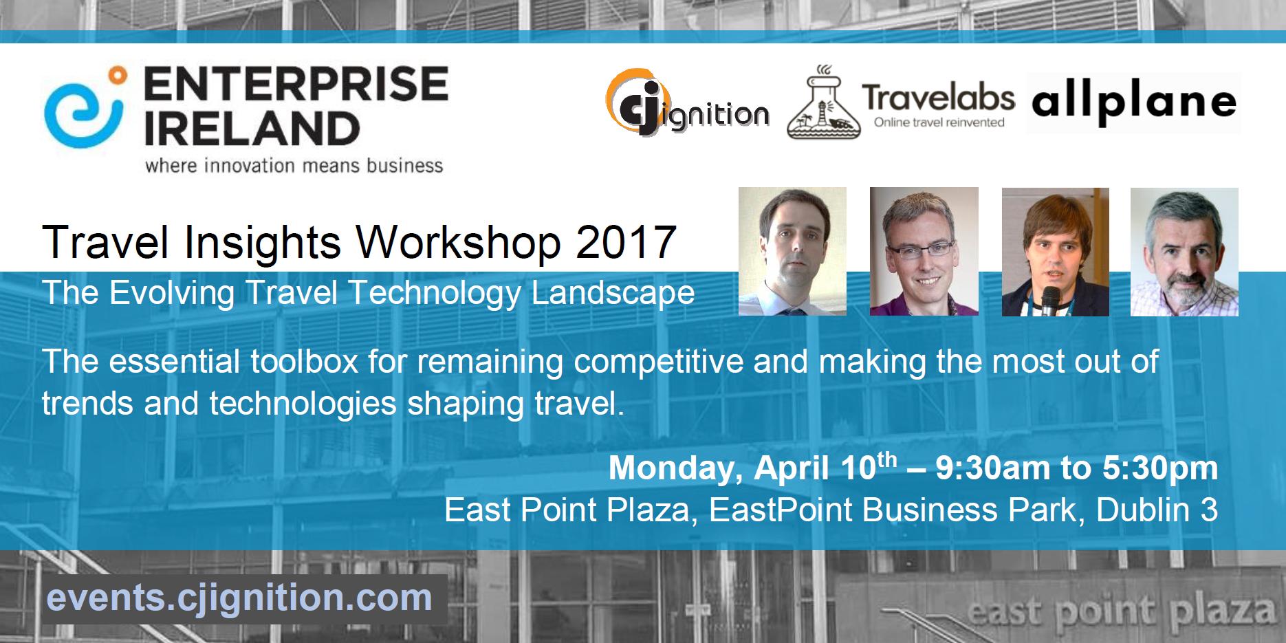 travel tech workshop ireland