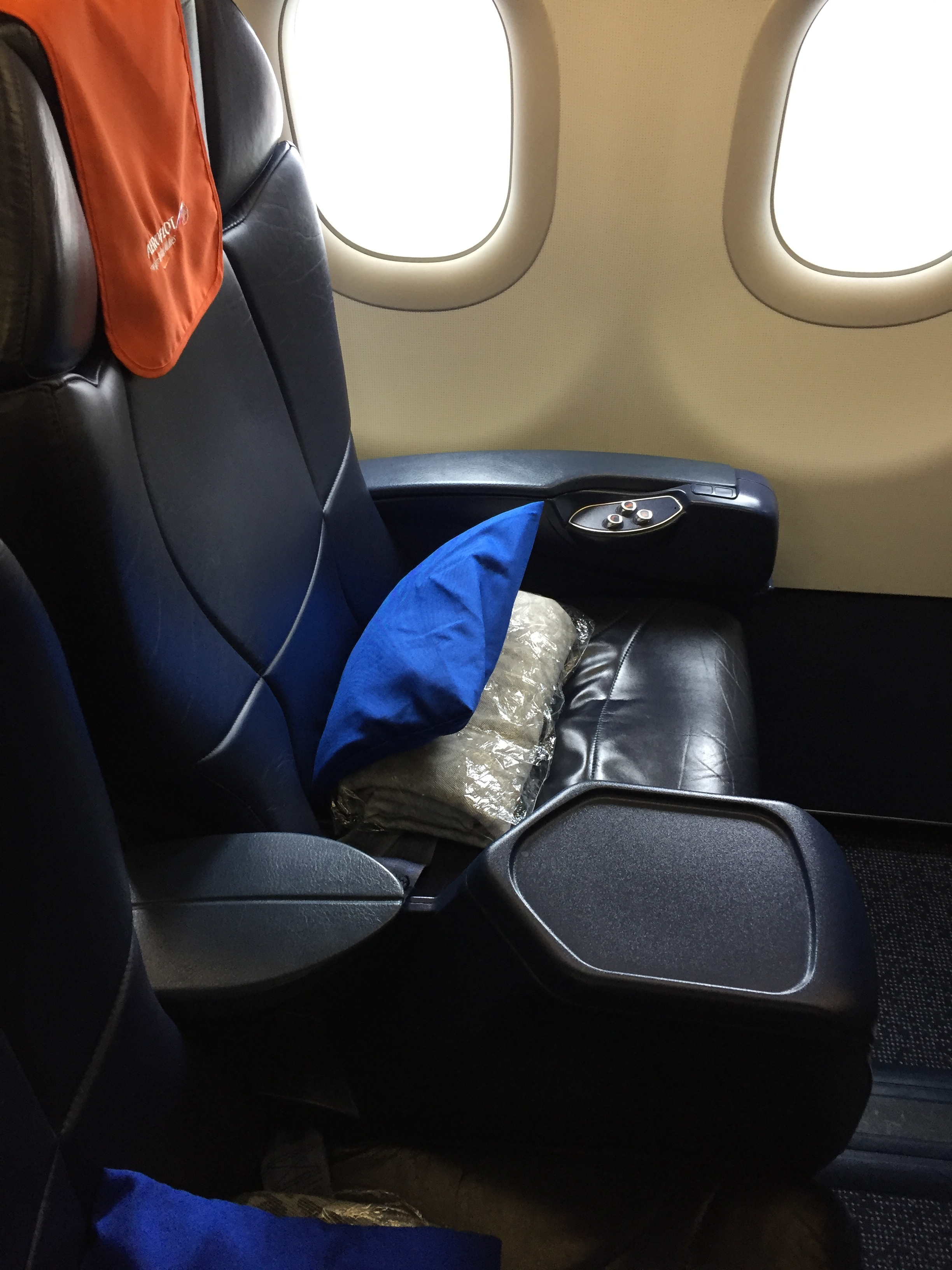 """I found Aeroflot's seat to be quite generous in terms of space and, compared to other airlines that in short and medium haul offer just a lightly upgraded version of their economy product (what we could call the """"European business class"""" type of product).Aeroflot European business class is a truly differentiated product."""
