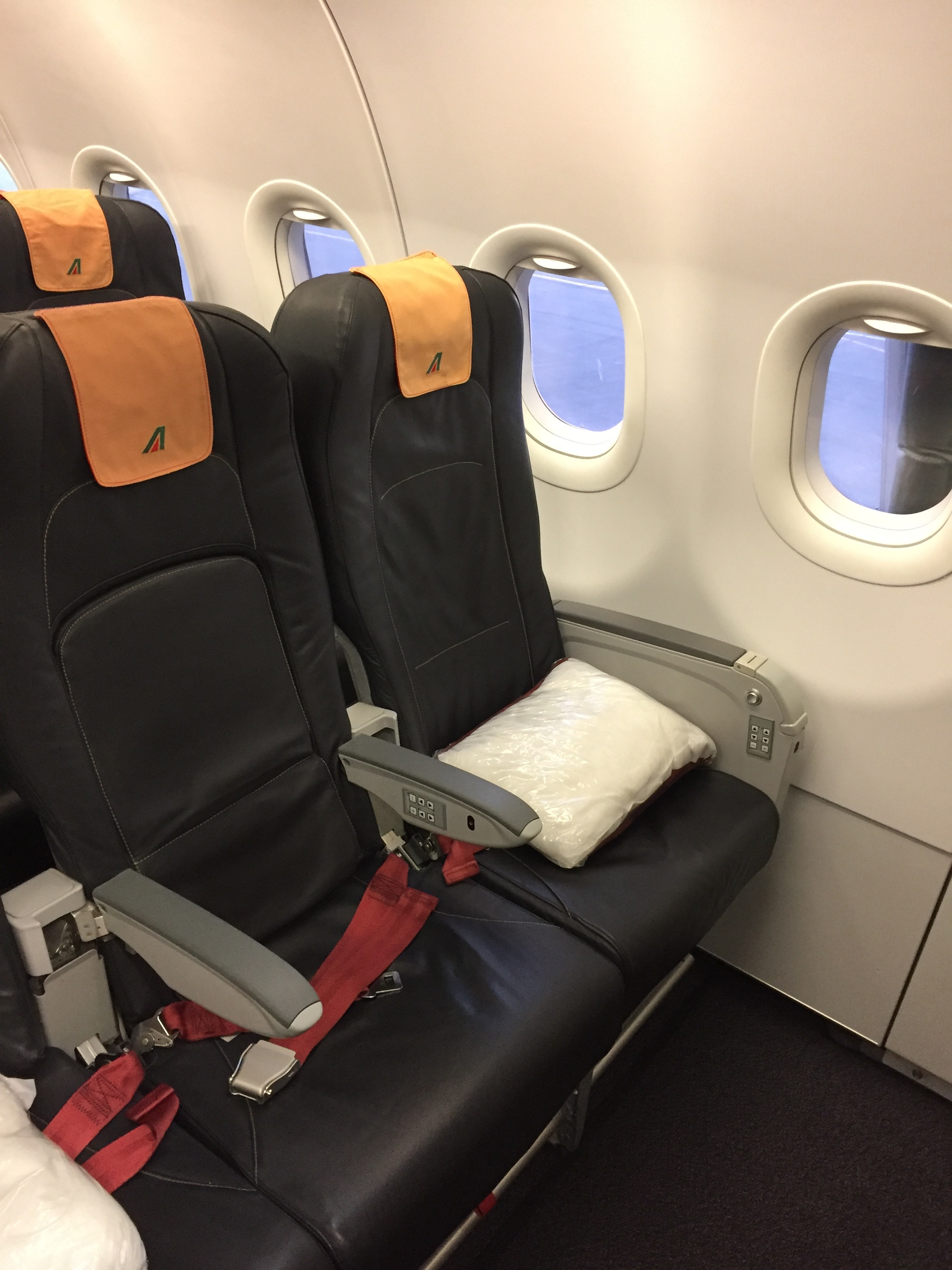 These are Alitalia's business class seats