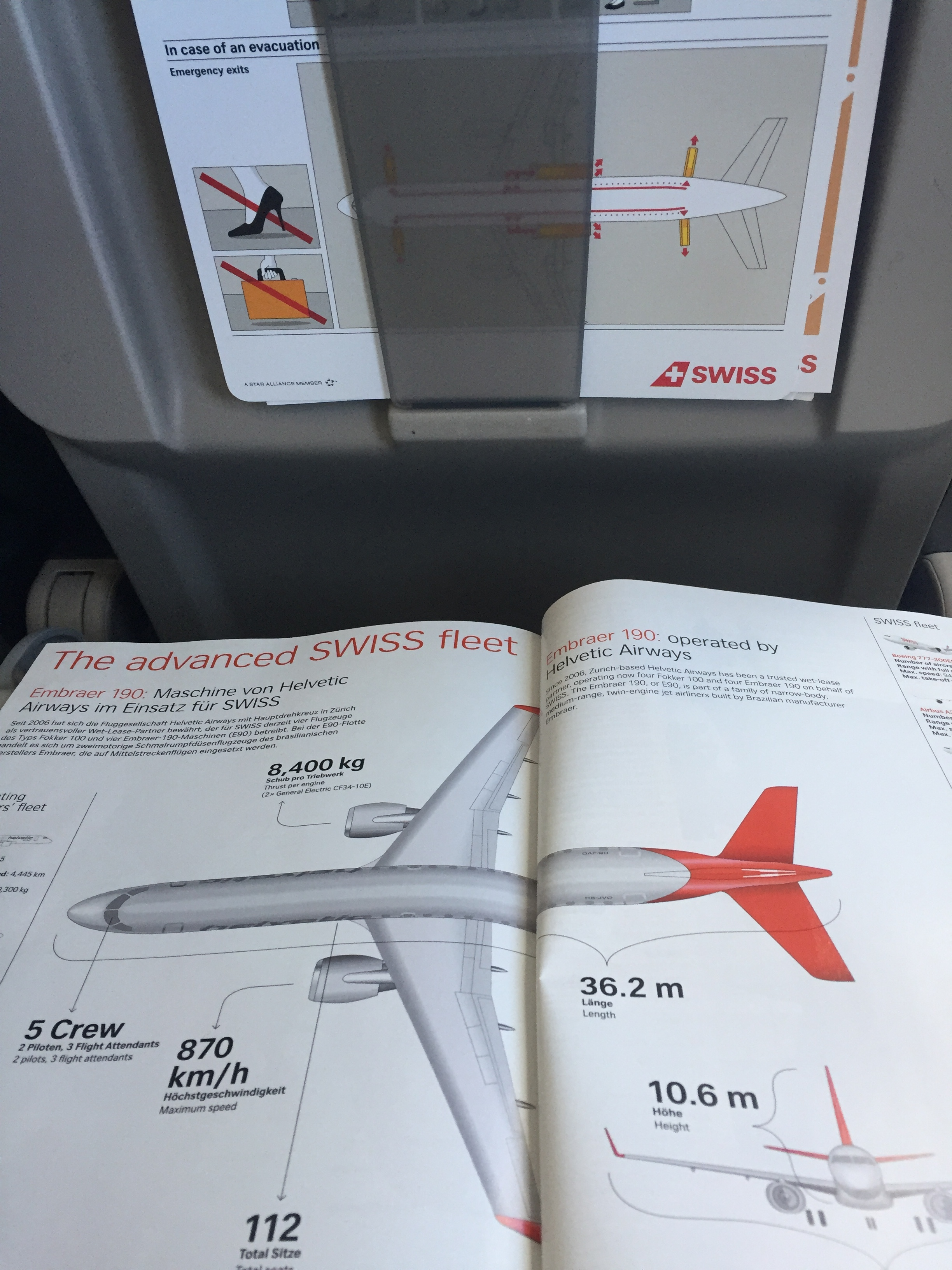 I liked the way Swiss presents its fleet - I have seen some nice  fleet sections on in-flight magazines  lately!