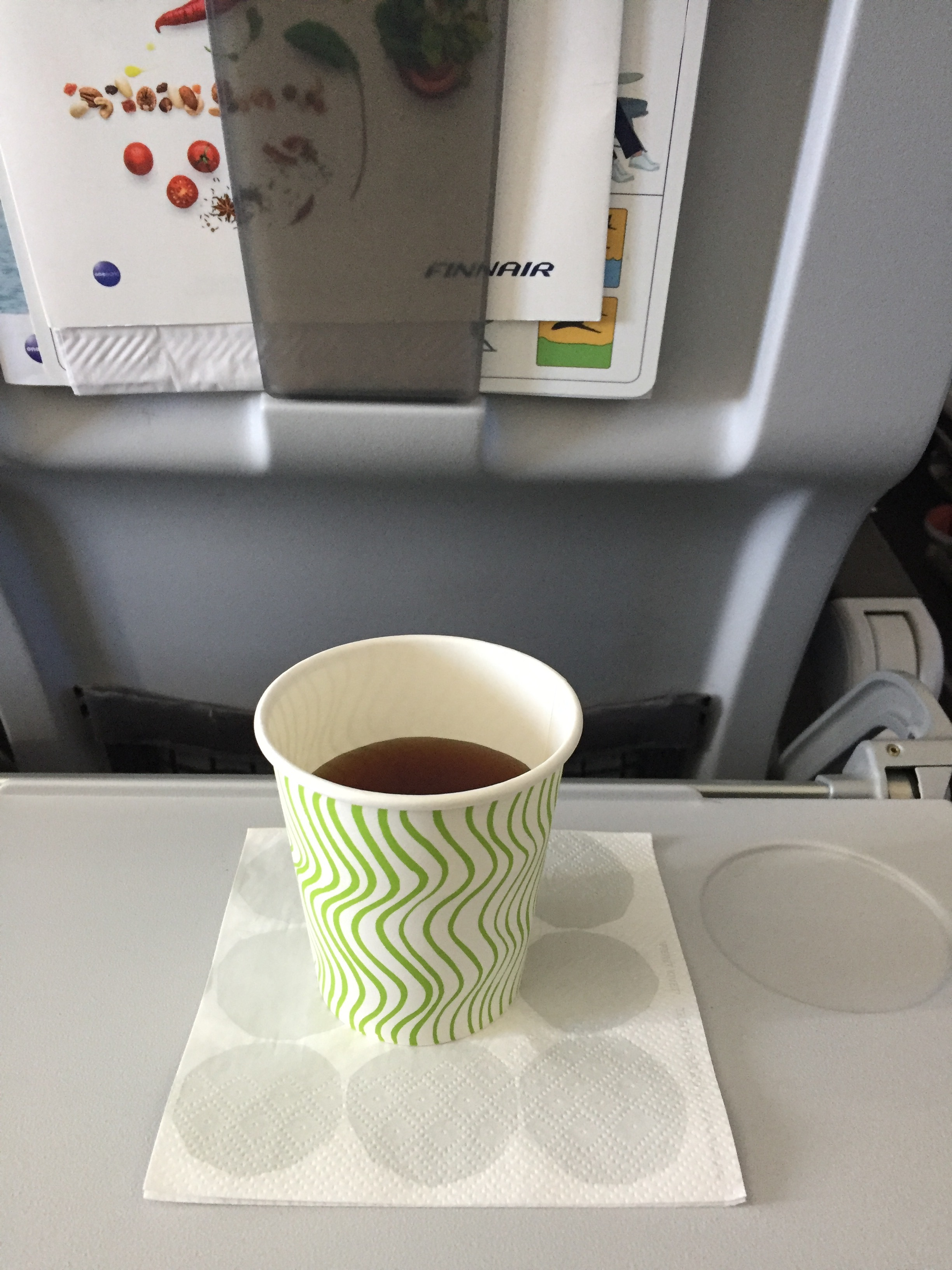 Water and tea are complimentary, all the rest needs to be paid for