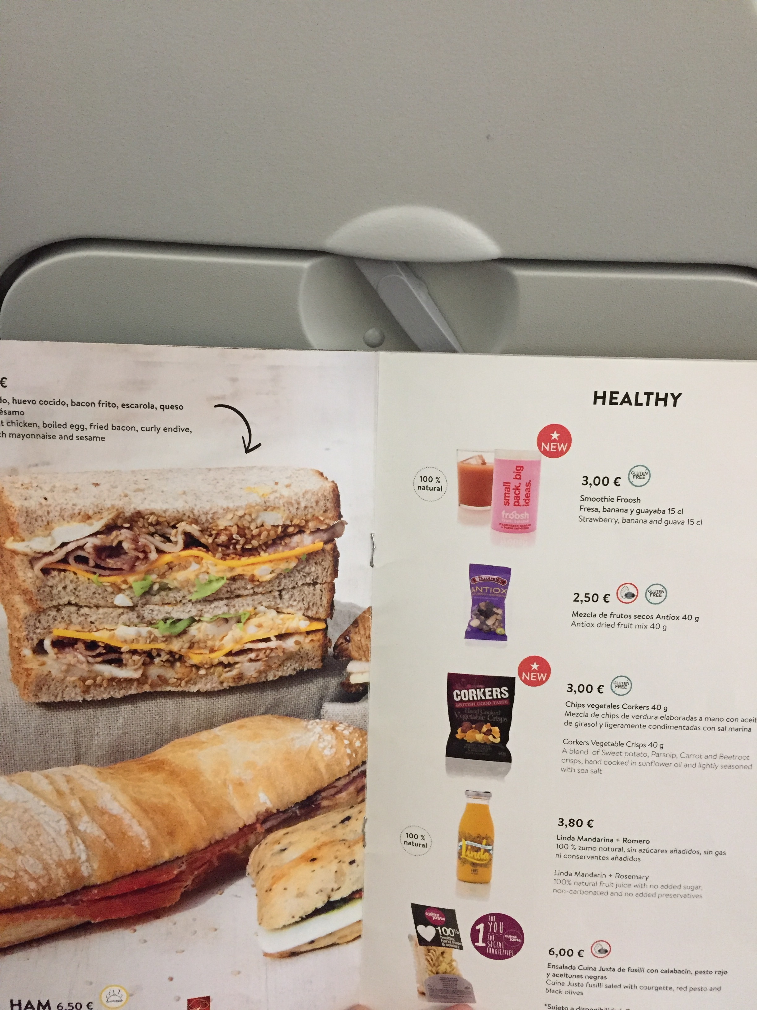 Vueling inflight menu.JPG