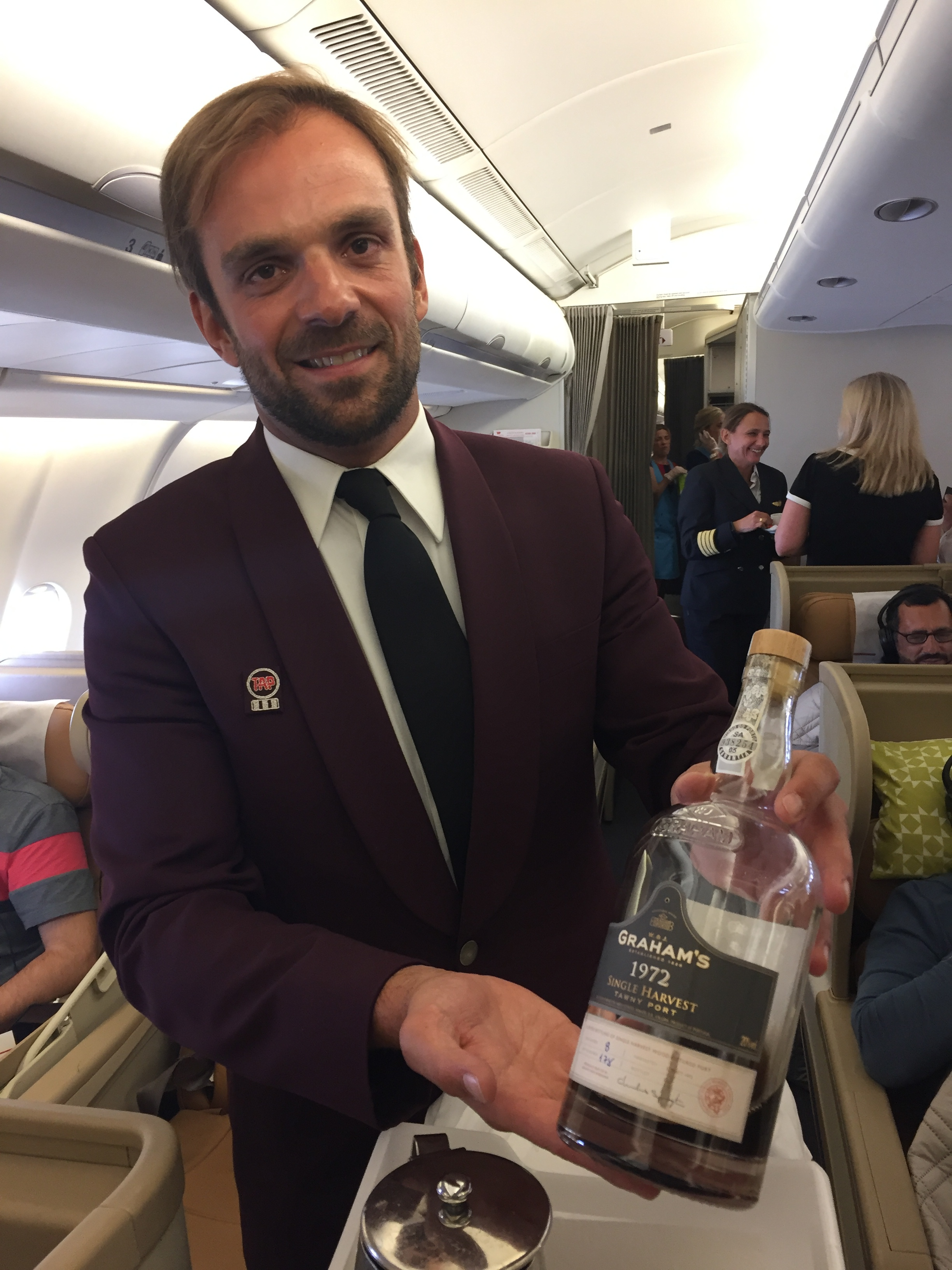 TAP inflight drink port wine.JPG