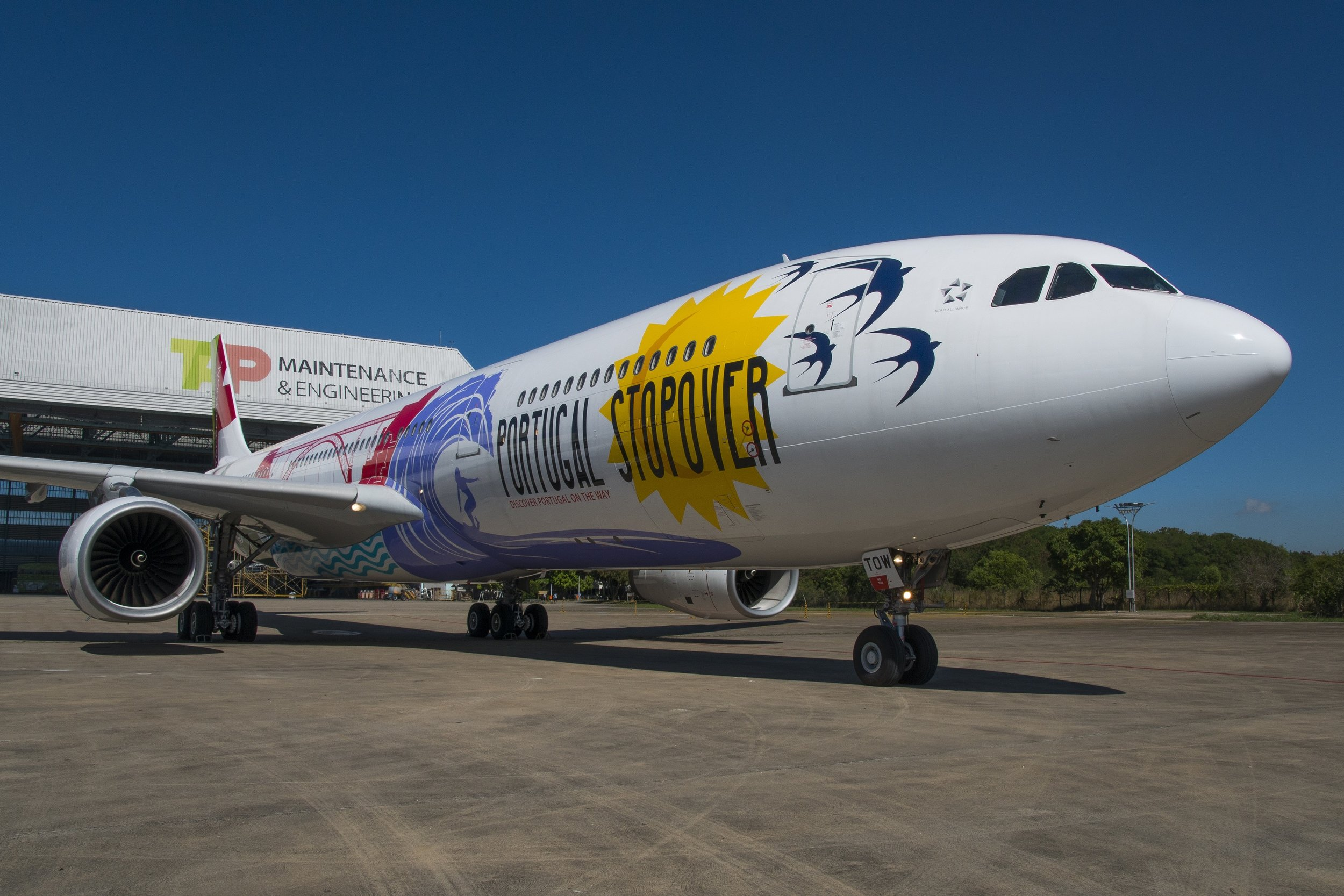 TAP launches new special livery: Portugal Stopover — Allplane