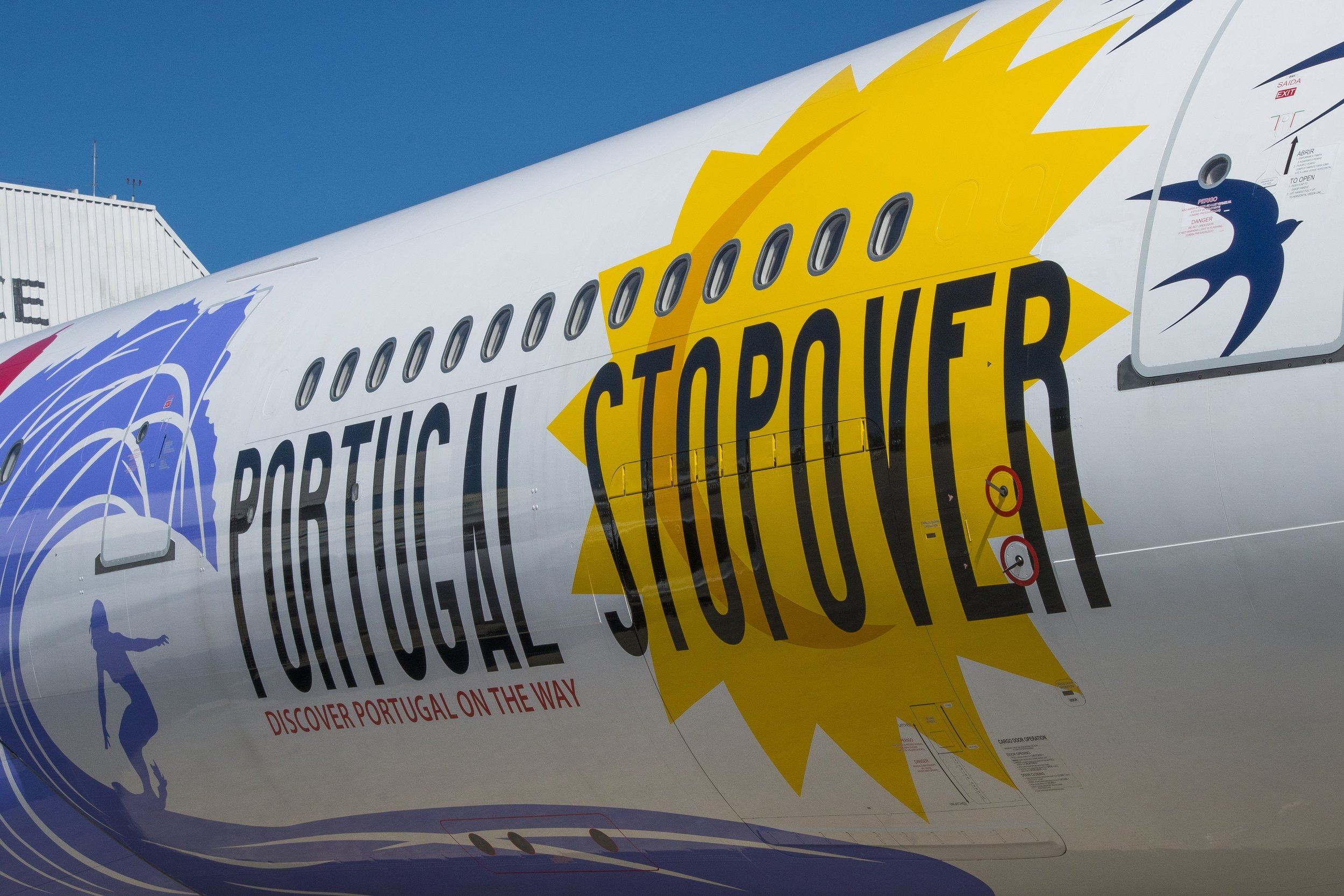 Portugal Stopover livery