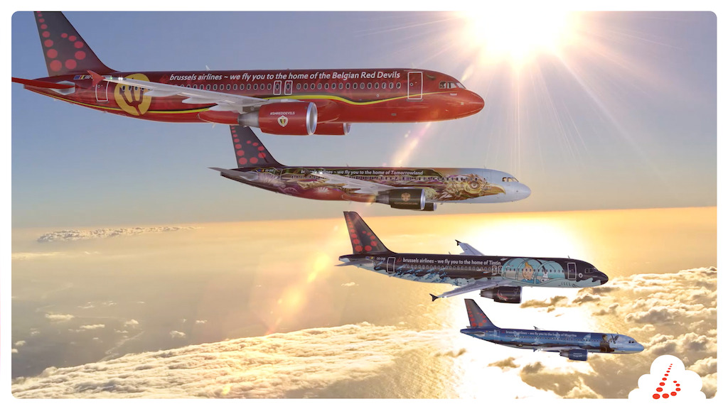 Brussels Airlines special liveries