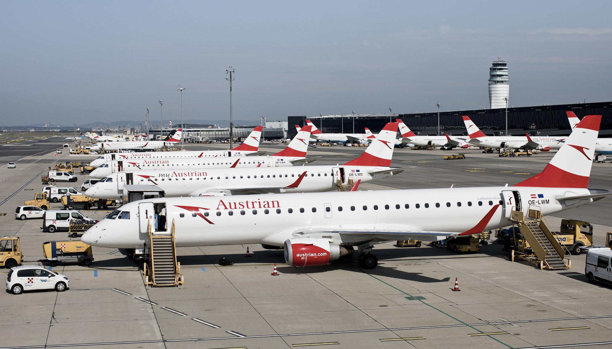 austrian embraers e-jets