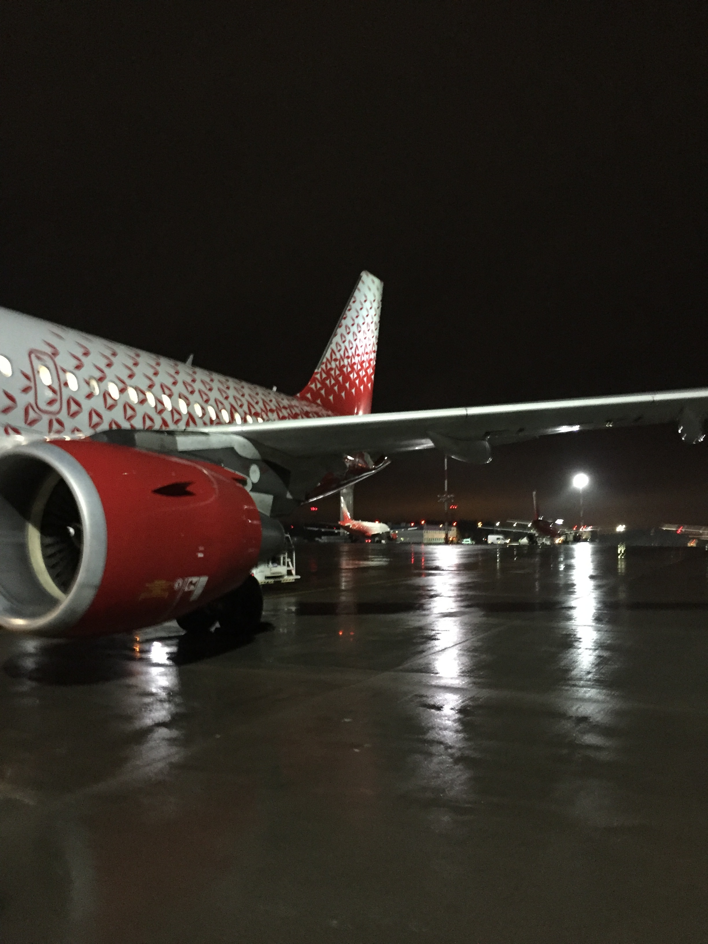 This is Rossiya's rather cool  new livery . A massive improvement from the rather formal  previous one