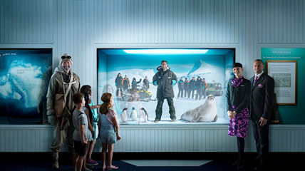 air new zealand antarctica