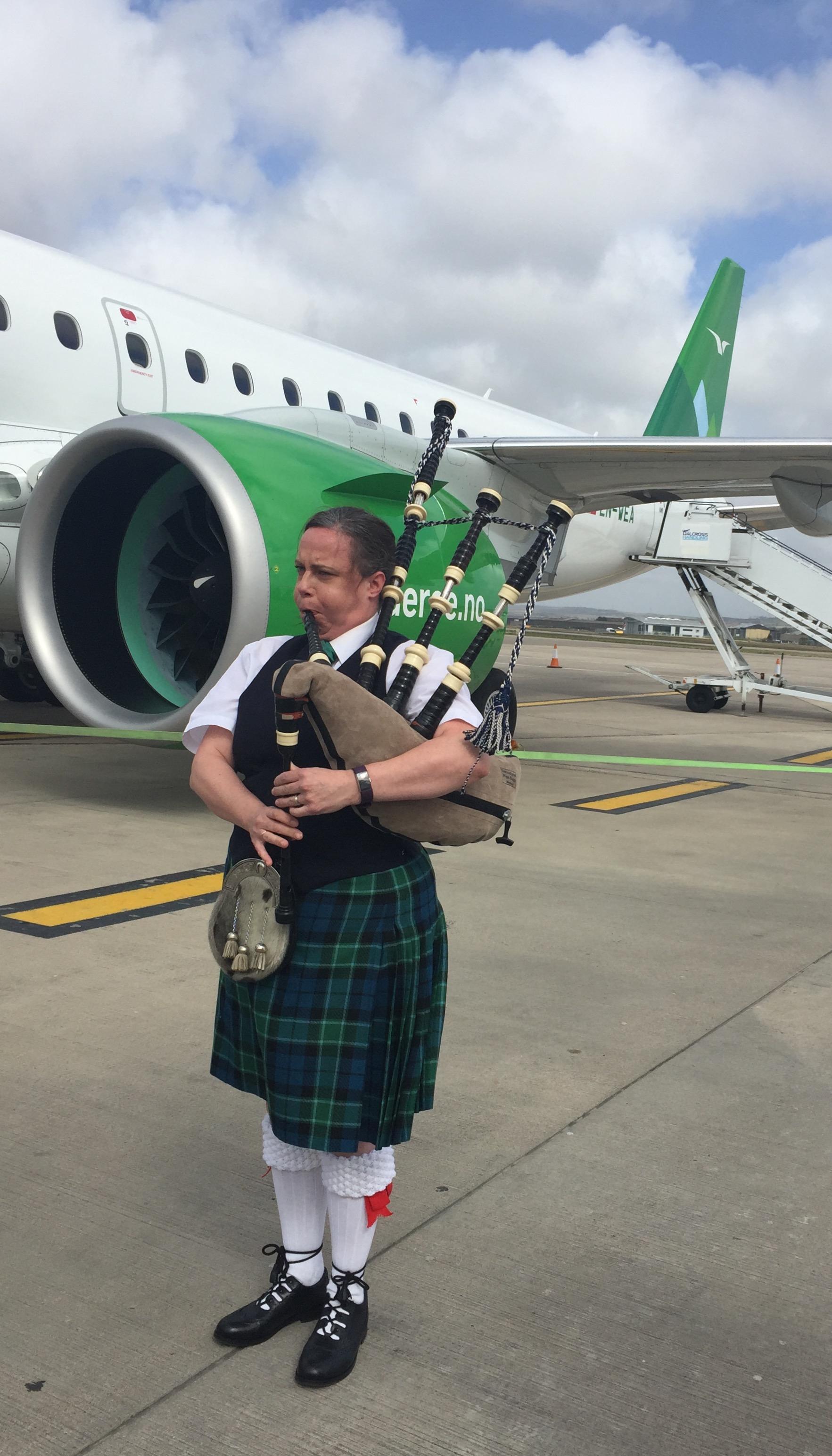 We were sent off Scottish-style!