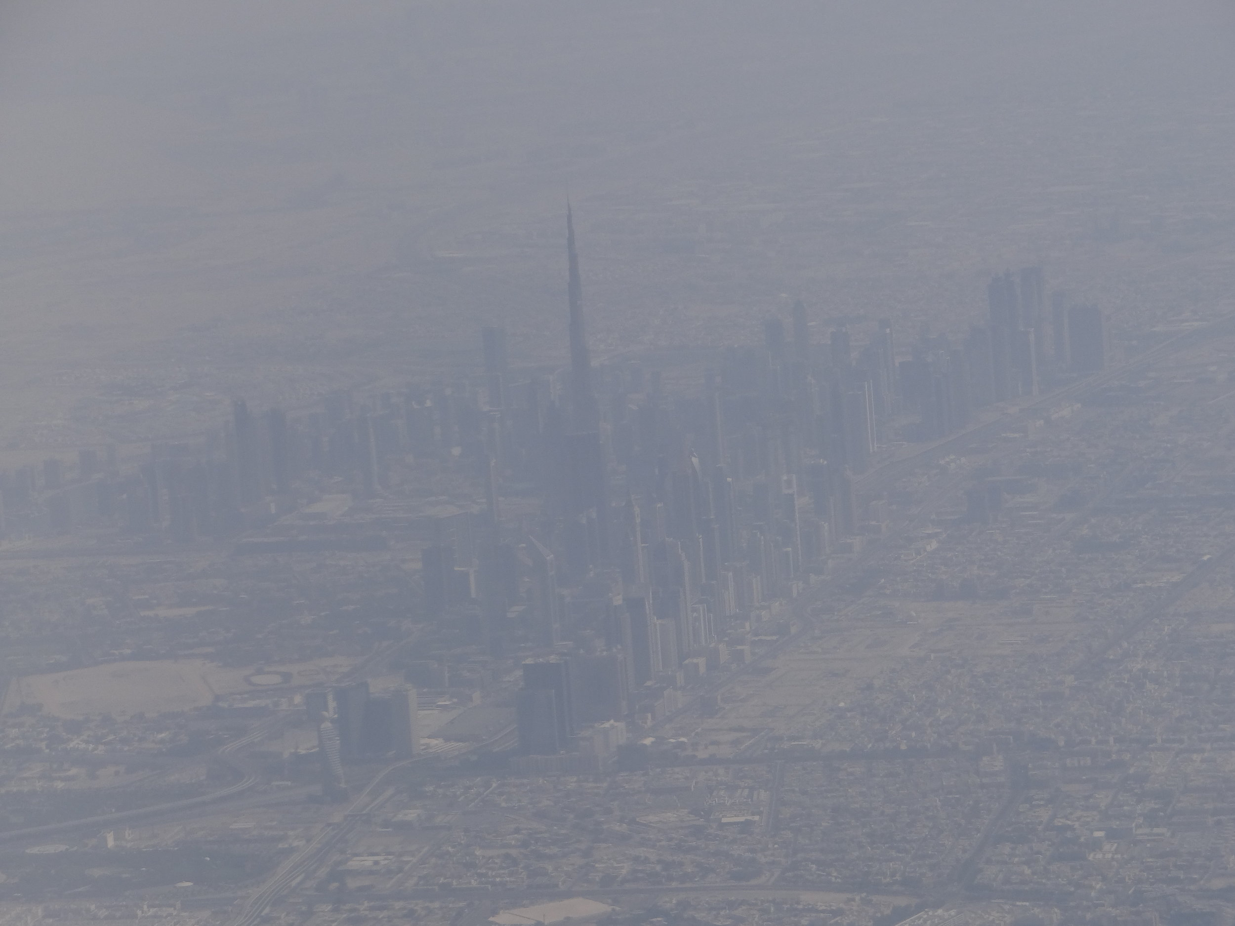 ...and before we could even notice...Dubai's skyline is right by our side!