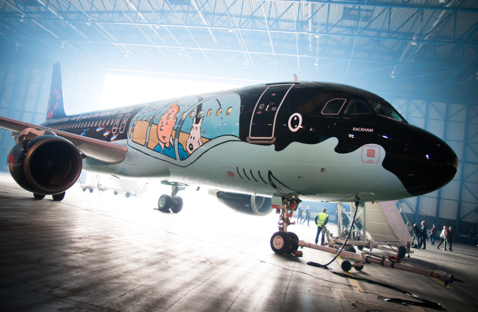 Brussels Airlines Tintin