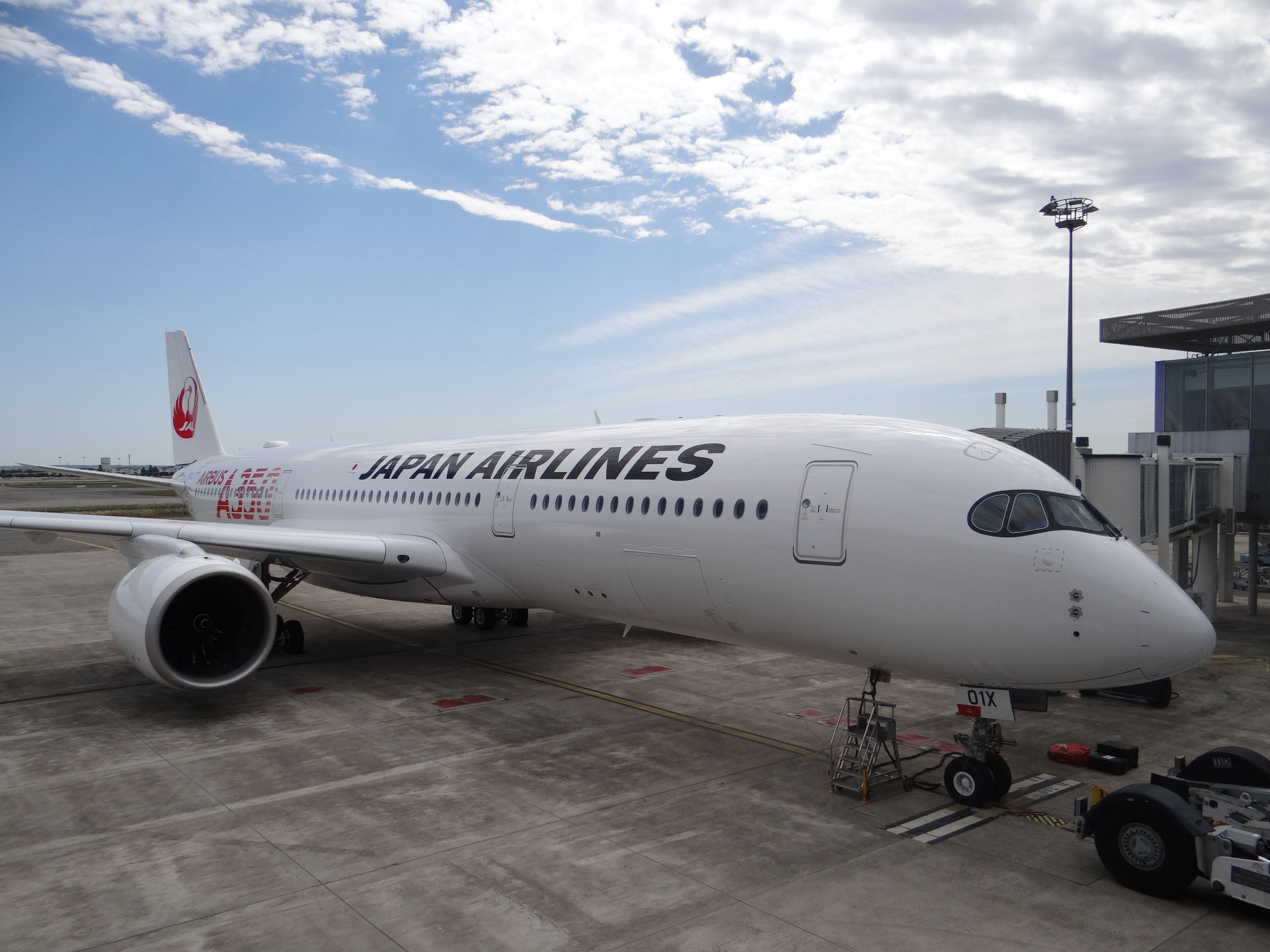 japan airlines a350.JPG