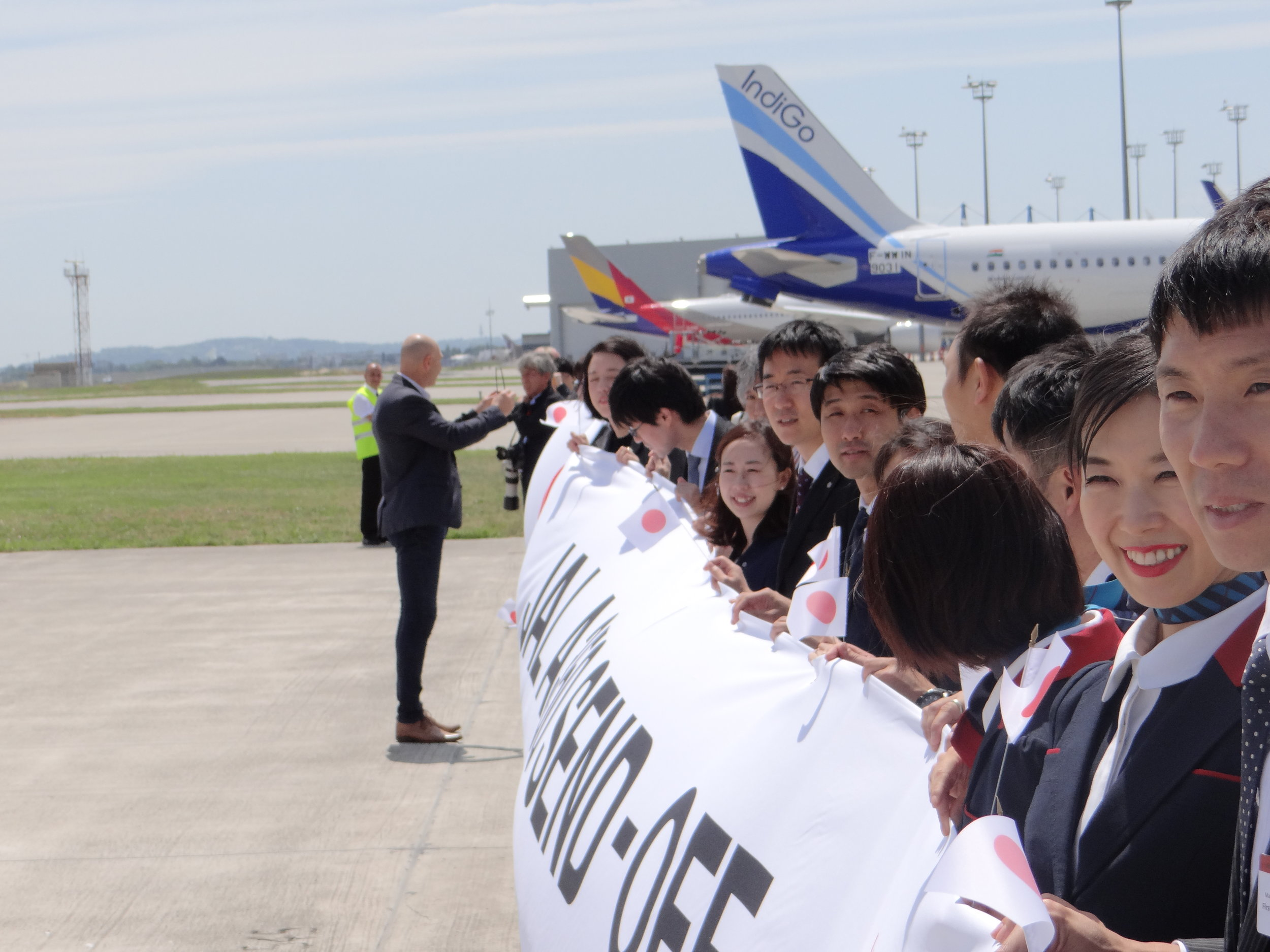 JAL A350 send-off.JPG