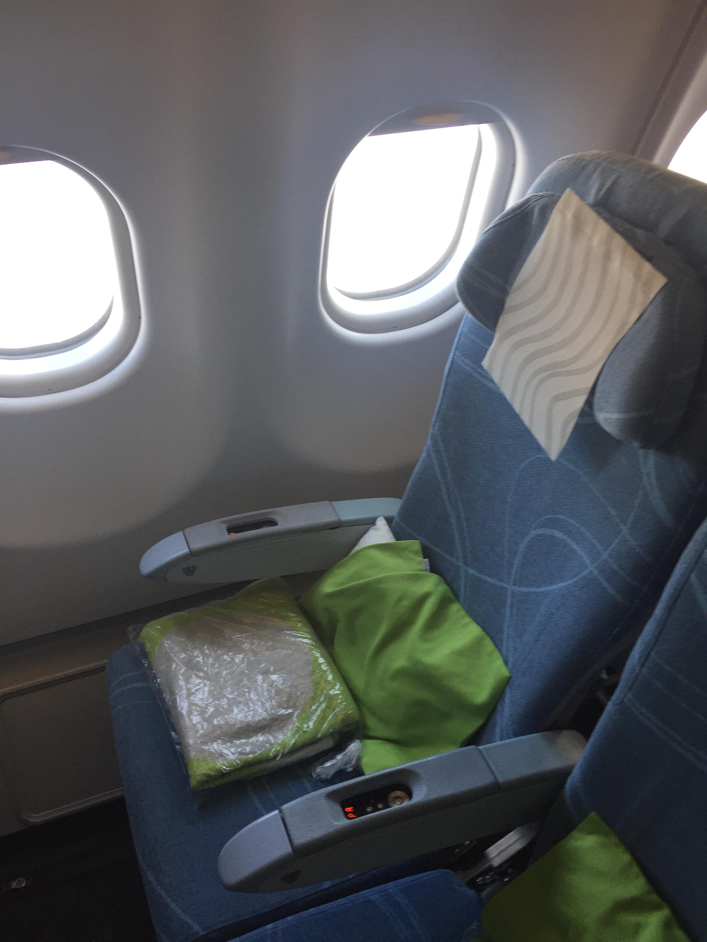 Finnair economy class flight review.JPG