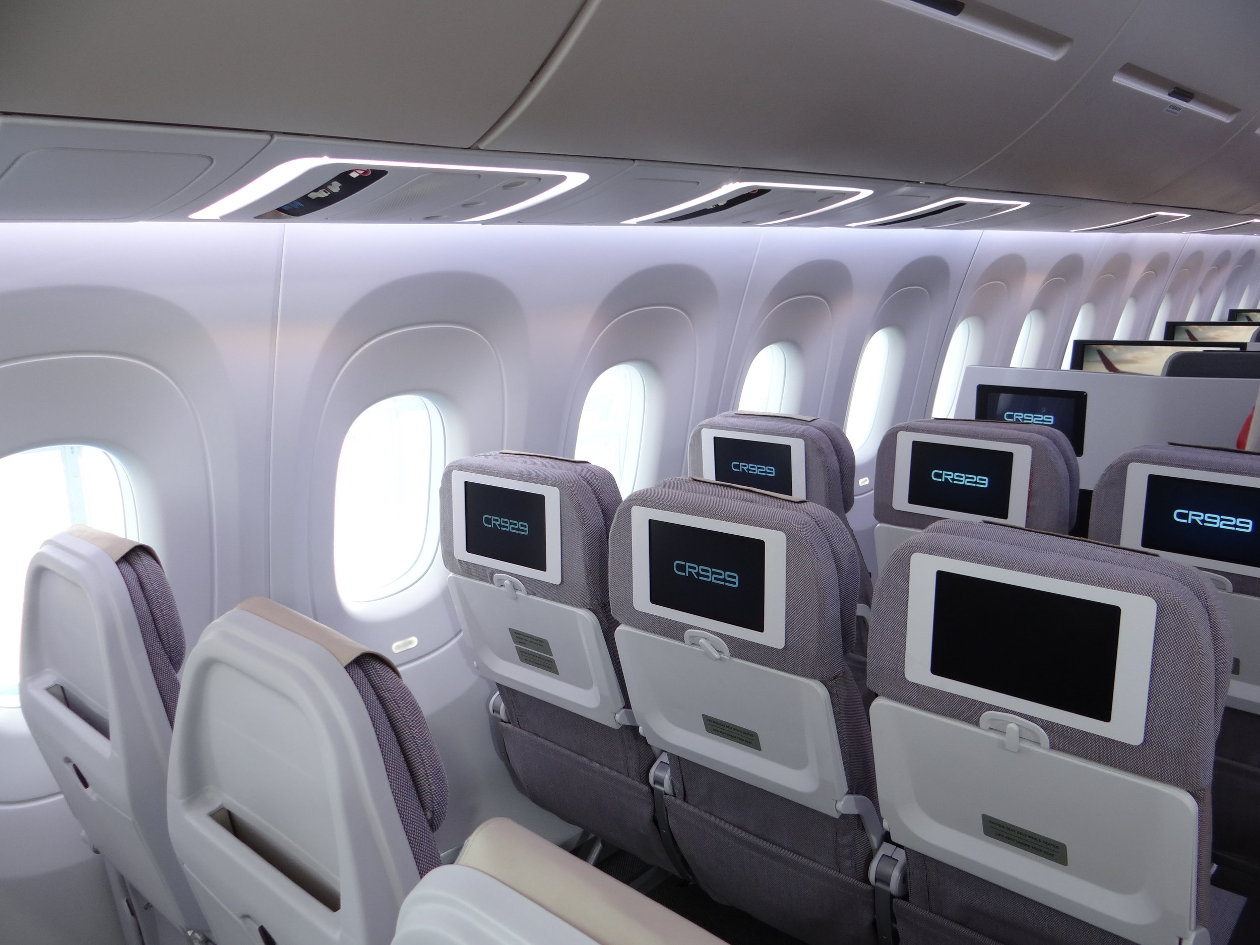 cr929 seats aircraft mockup.JPG