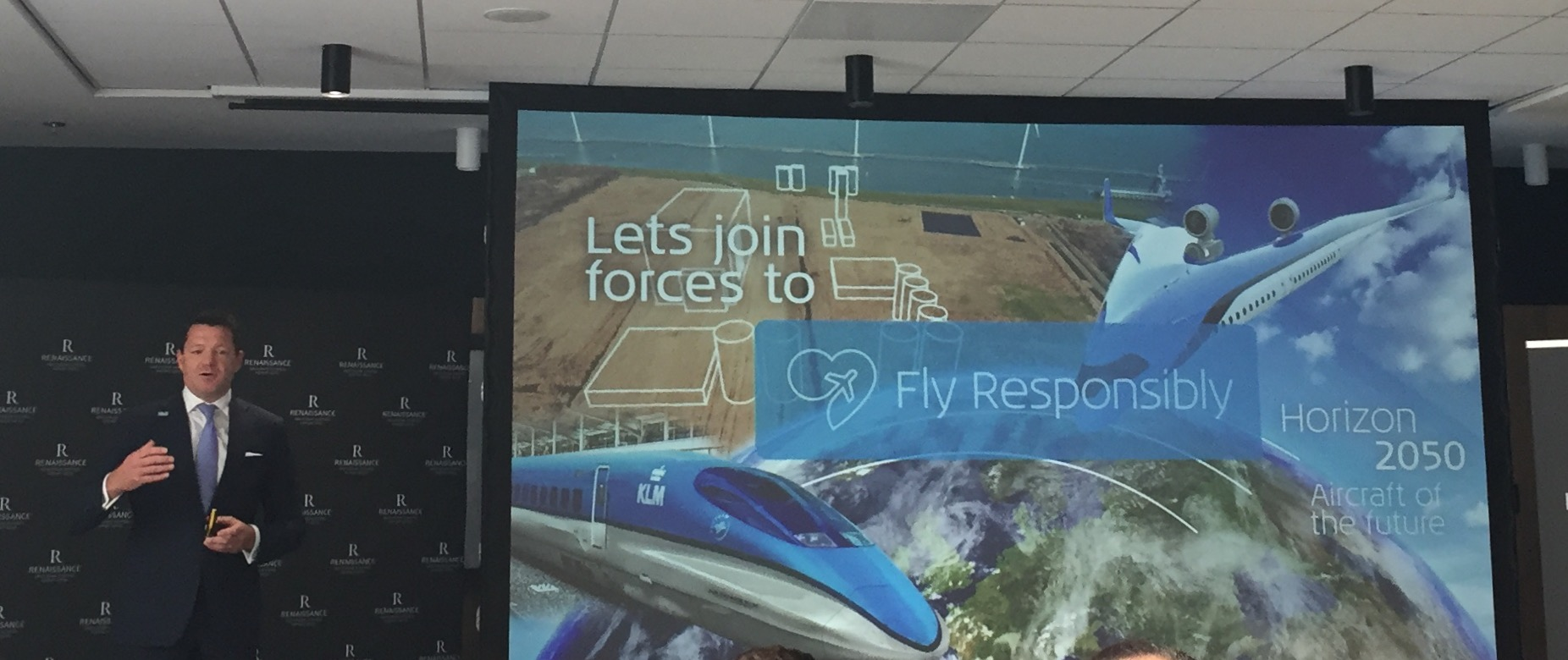 "KLM has launched the "" Fly Responsibly "" initiative"