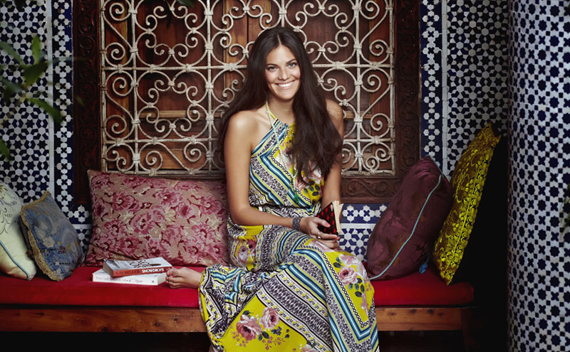 Summer season campaign from Long Tall Sally